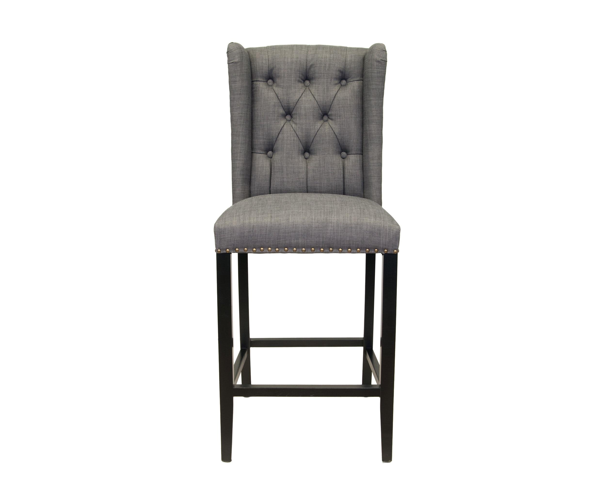 Стул Skipton greyБарные стулья<br>Высокий барный стул выполнен из экологически чистого массива древесины высокого качества. Лаконичный дизайн и современный стиль модели сделают Ваш интерьер еще более комфортным для жизни.&amp;amp;nbsp;&amp;lt;div&amp;gt;&amp;lt;br&amp;gt;&amp;lt;/div&amp;gt;&amp;lt;div&amp;gt;Материал обивки Лен: &amp;amp;nbsp;&amp;lt;/div&amp;gt;<br><br>Material: Дерево<br>Width см: 52<br>Depth см: 50<br>Height см: 125