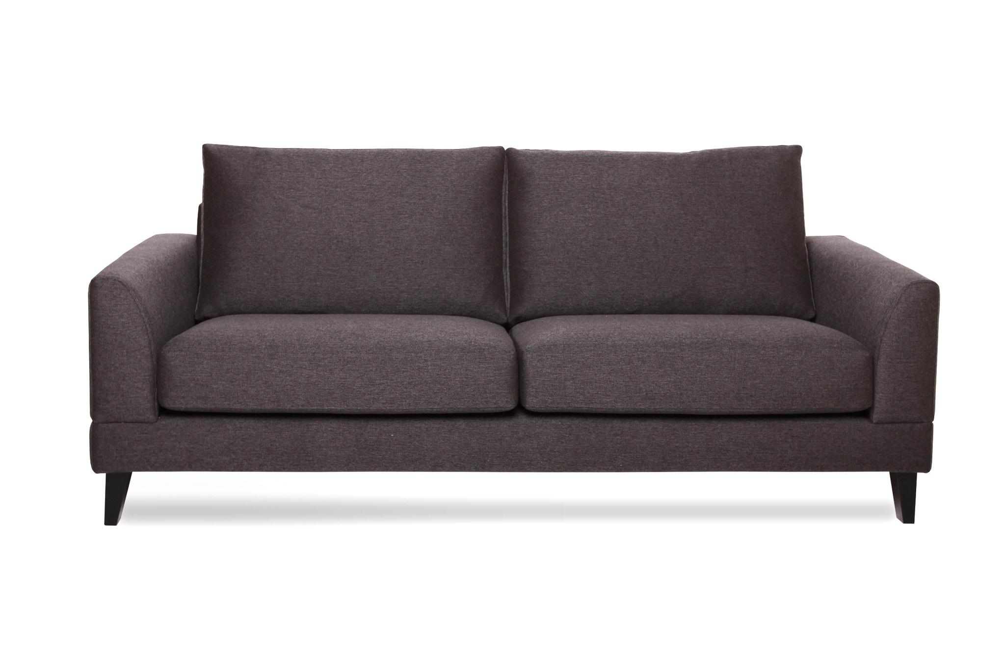 Диван ТромсоТрехместные диваны<br>Прямой  диван Тромсо длиной 215 см. Невысокий и широкий диван обеспечит максимальный комфорт, а простота дизайна подчеркнет легкий и естественный скандинавский стиль.&amp;lt;div&amp;gt;&amp;lt;br&amp;gt;&amp;lt;div&amp;gt;Не разбирается.&amp;amp;nbsp;&amp;lt;/div&amp;gt;&amp;lt;div&amp;gt;Каркас (комбинации дерева, фанеры и ЛДСП). Для сидячих подушек используют пену различной плотности, а также перо и силиконовое волокно.&amp;amp;nbsp;&amp;lt;/div&amp;gt;&amp;lt;div&amp;gt;Для задних подушек есть пять видов наполнения: пена, измельченая пена, пена высокой эластичности, силиконовые волокно.&amp;amp;nbsp;&amp;lt;/div&amp;gt;&amp;lt;div&amp;gt;Материал обивки: Linda 7/2 dark antrazite  (100% PP полипропиленовое волокно).&amp;lt;/div&amp;gt;&amp;lt;/div&amp;gt;<br><br>Material: Текстиль<br>Ширина см: 215<br>Высота см: 75<br>Глубина см: 95