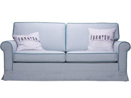 Диван-кровать classic (myfurnish) голубой 195x86x82 см.