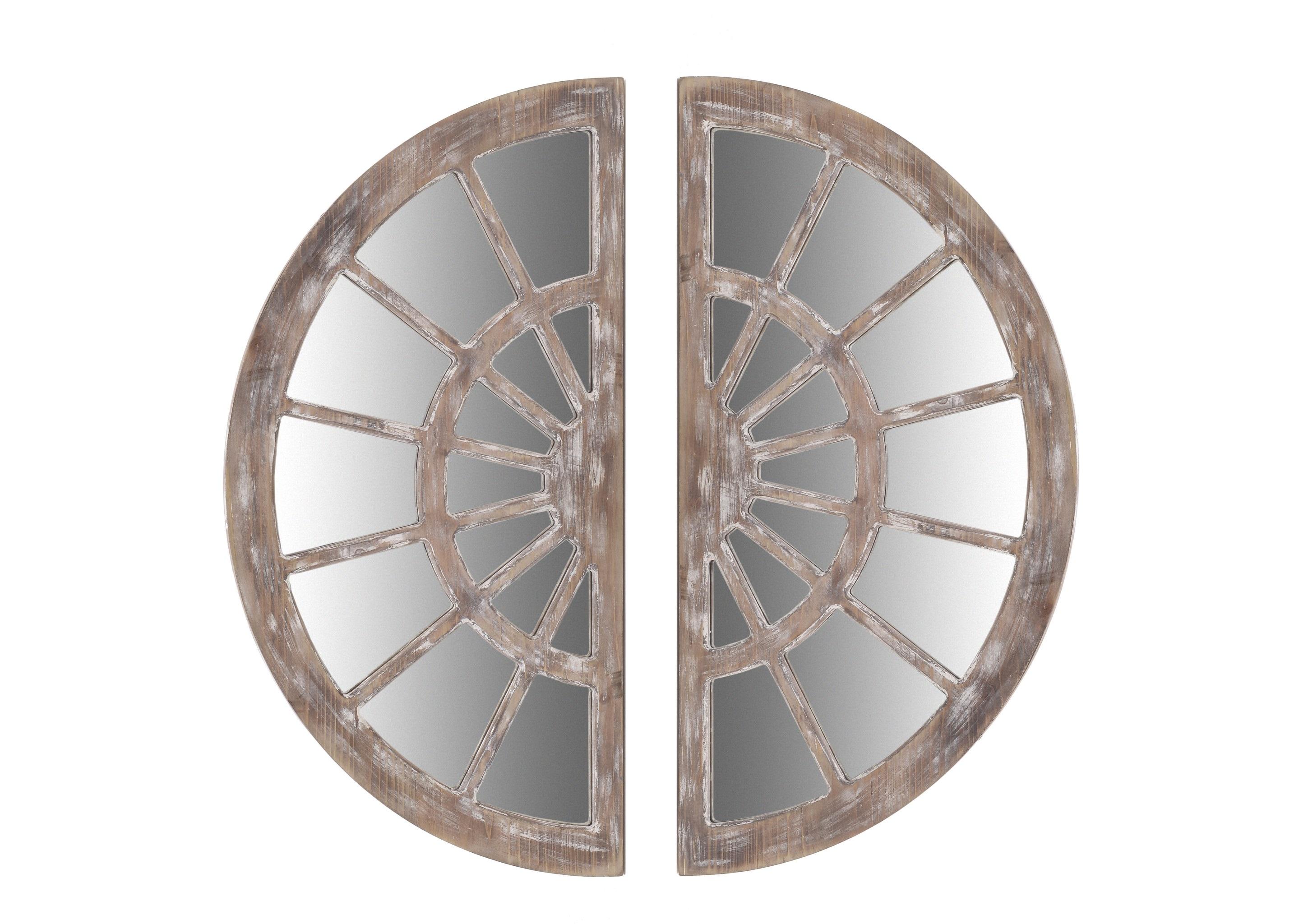 Зеркало настенное La Paz (2шт)Настенные зеркала<br>&amp;lt;div&amp;gt;Материал: дерево, стекло&amp;lt;br&amp;gt;&amp;lt;/div&amp;gt;<br><br>Material: Дерево<br>Width см: 80<br>Depth см: 2.5<br>Height см: 40
