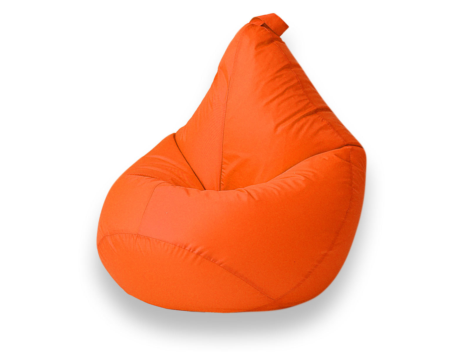 Кресло-мешок БингбэгКресла-мешки<br>Эти замечательные  кресла-мешки занимают совсем немного места, а подойдут и взрослым, и детям!                                                                          Внешний чехол: съемный, на молнии из водоотталкивающей ткани по тактильным ощущениям напоминает курточную ветровочную ткань.<br>Внутренний мешок: имеет молнию для самостоятельного пополнения мешка гранулами, cистема db-lock - защита от открытия детьми.                            Наполнитель: гранулы пенополистирола (пенопласта)1-2 мм, очень мягкий и легкий.                                         <br>Использование: внутри и вне помещений, так как ткань водоотталкивающая можно использовать  на природе, на даче.  <br>Максимальная нагрузка на кресло 80 кг.                                                                                                                       <br>Уход: Внешний чехол может быть постиран в стиральной машине при температуре не выше 30*. <br>Не отжимать, не гладить.<br>Внимание! Вы получаете готовое, наполненное изделие.<br><br>Material: Текстиль