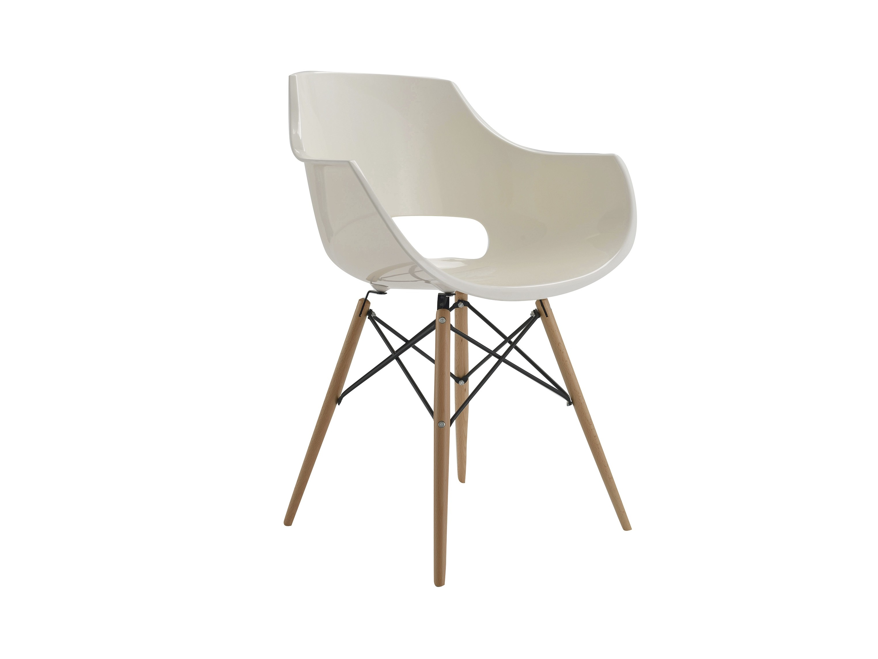 СтулОбеденные стулья<br>Материал: Пластик, дерево<br><br>Material: Пластик<br>Width см: 63<br>Depth см: 54<br>Height см: 83