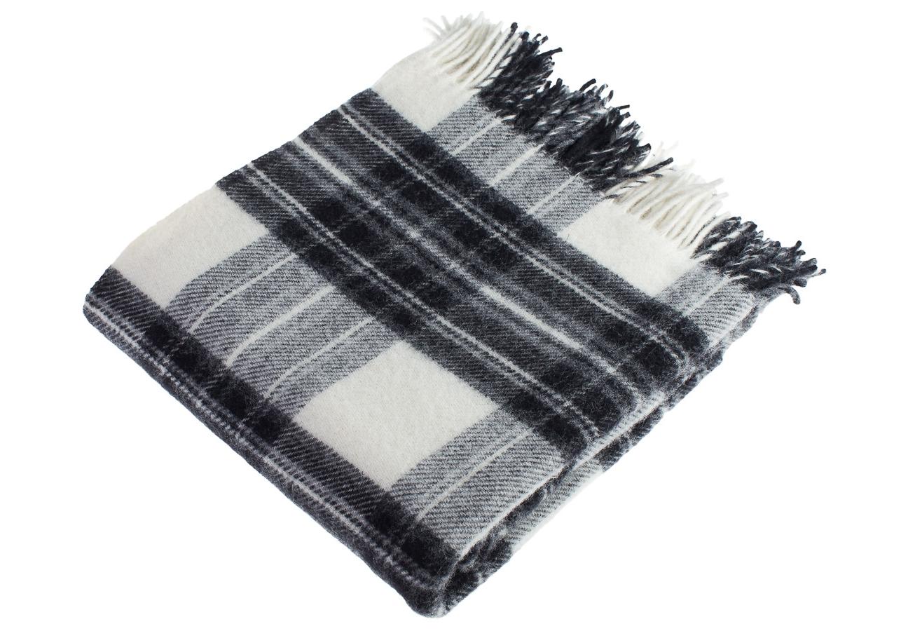 Плед Dress StewartШерстяные пледы<br><br><br>Material: Шерсть<br>Length см: 183<br>Width см: 150