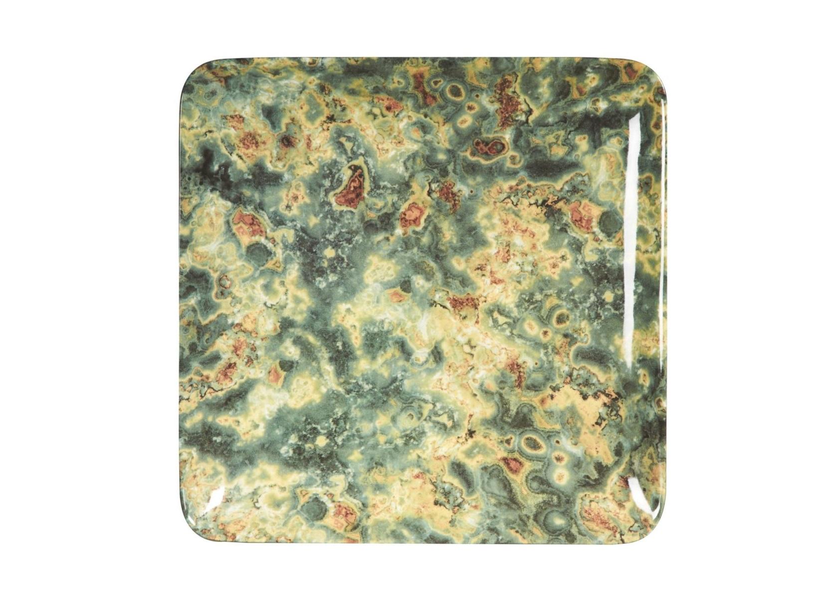 Поднос LeafДекоративные подносы<br><br><br>Material: Керамика<br>Ширина см: 34<br>Высота см: 3<br>Глубина см: 34