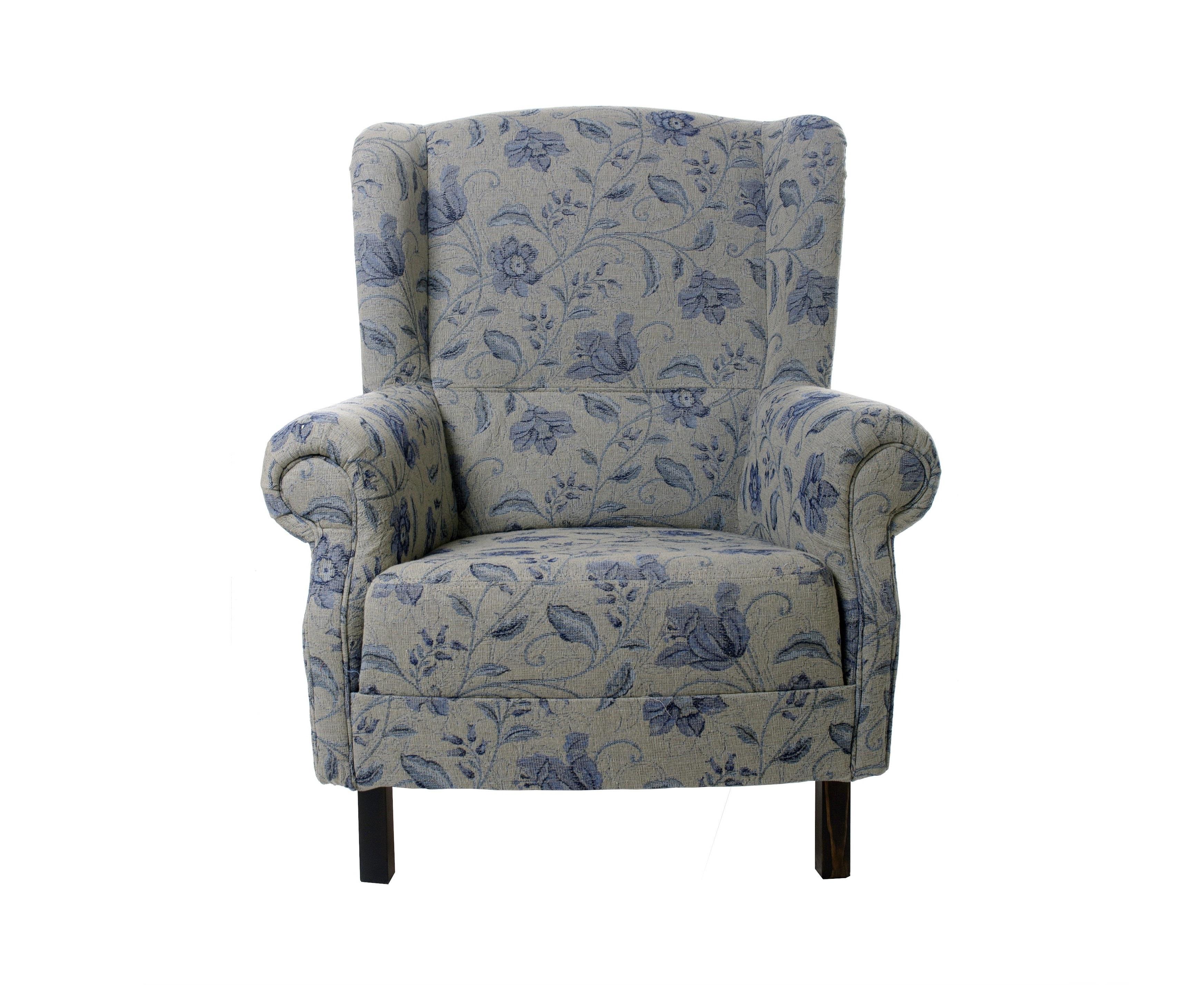 Кресло прованс с цветами
