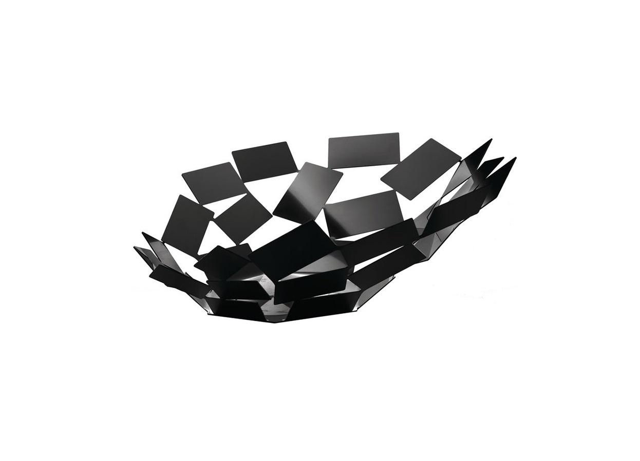 Блюдо La stanza dello sciroccoМиски и чаши<br>Великолепное широкое блюдо из серии предметов для гостиной и кухни La Stanza dello Scirocco.<br><br>На создание коллекции архитектора и дизайнера Марио Тримарки вдохновили традиционные комнаты «сирокко», которые можно повстречать в богатых сицилийских домах. Эти небольшие помещения без окон предназначены для укрытия в случае сильного средиземноморского ветра. Шум мощных порывов, философские размышления о жизни и игра теней на стене — такова атмосфера этих комнат, в которых люди бывают вынуждены проводить в бездействии долгое время. <br><br>Тонкие пластины, которые образуют ассиметричные формы коллекции, кажутся как будто закрученными в воздухе ветряным вихрем. При первом взгляде на блюдо даже может показаться, словно отдельные его части никак не закреплены между собой: еще чуть-чуть — и оно разлетится в разные стороны!&amp;amp;nbsp;&amp;lt;div&amp;gt;&amp;lt;br&amp;gt;&amp;lt;/div&amp;gt;&amp;lt;div&amp;gt;Материал: окрашенная нержавеющая сталь&amp;lt;/div&amp;gt;<br><br>Material: Металл<br>Width см: 41,6<br>Depth см: 37,5<br>Height см: 15
