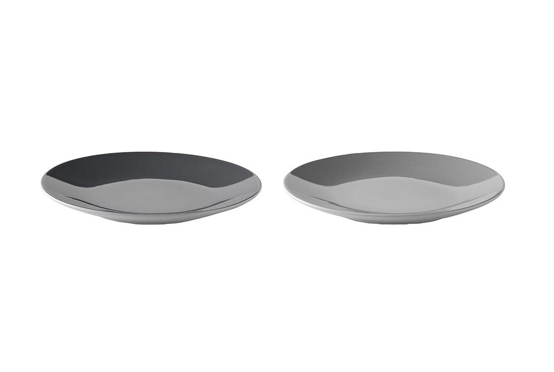 Набор тарелок Emma (2 шт)Тарелки<br>Набор из 2х тарелок Emma. Тарелки Emma прекрасно подойдут для десертов и тортов. Допустимо мытье в посудомоечной машине. Разрешено использование в микроволновой печи.&amp;amp;nbsp;<br><br>Material: Керамика<br>Length см: None<br>Width см: None<br>Height см: 2<br>Diameter см: 18