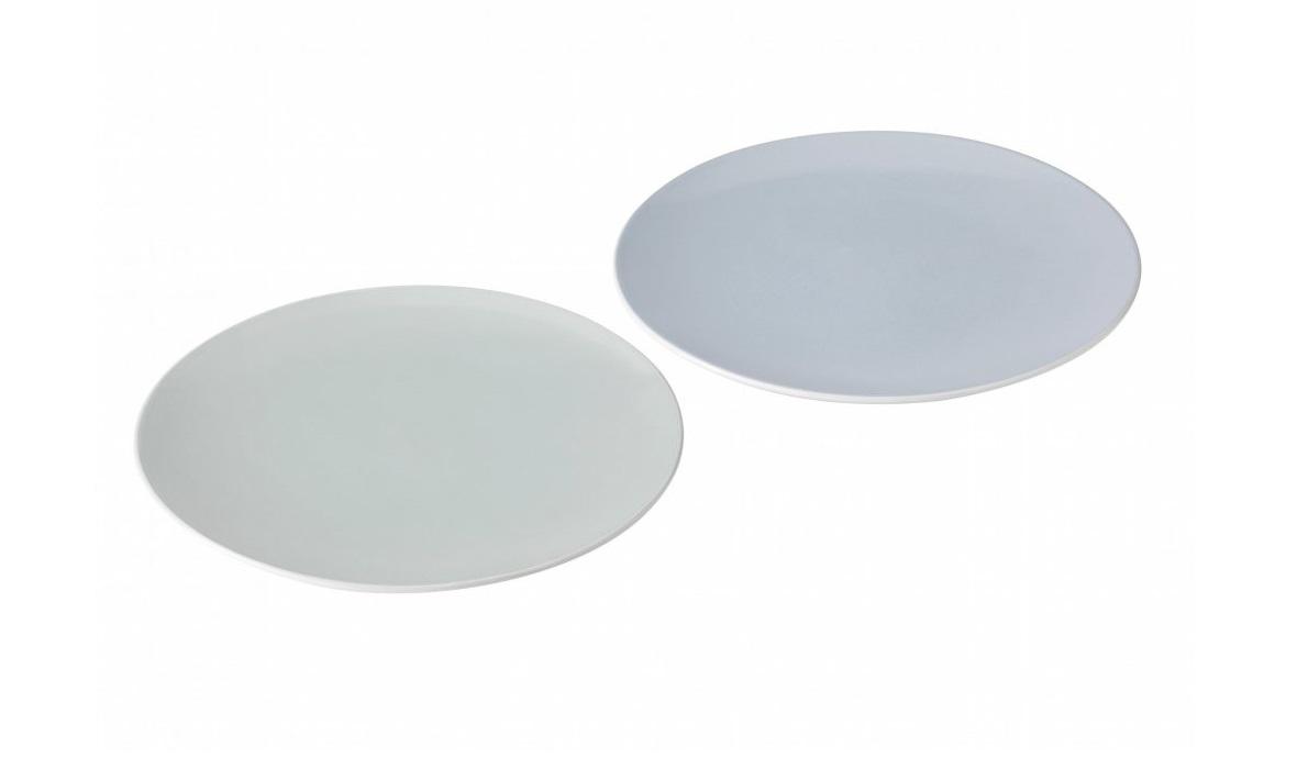 Набор тарелок Emma (2шт)Тарелки<br>Набор из 2х тарелок Emma. Тарелки Emma прекрасно подойдут для десертов и тортов. Допустимо мытье в посудомоечной машине. Разрешено использование в микроволновой печи.&amp;amp;nbsp;<br><br>Material: Керамика<br>Length см: None<br>Width см: None<br>Height см: 2<br>Diameter см: 18