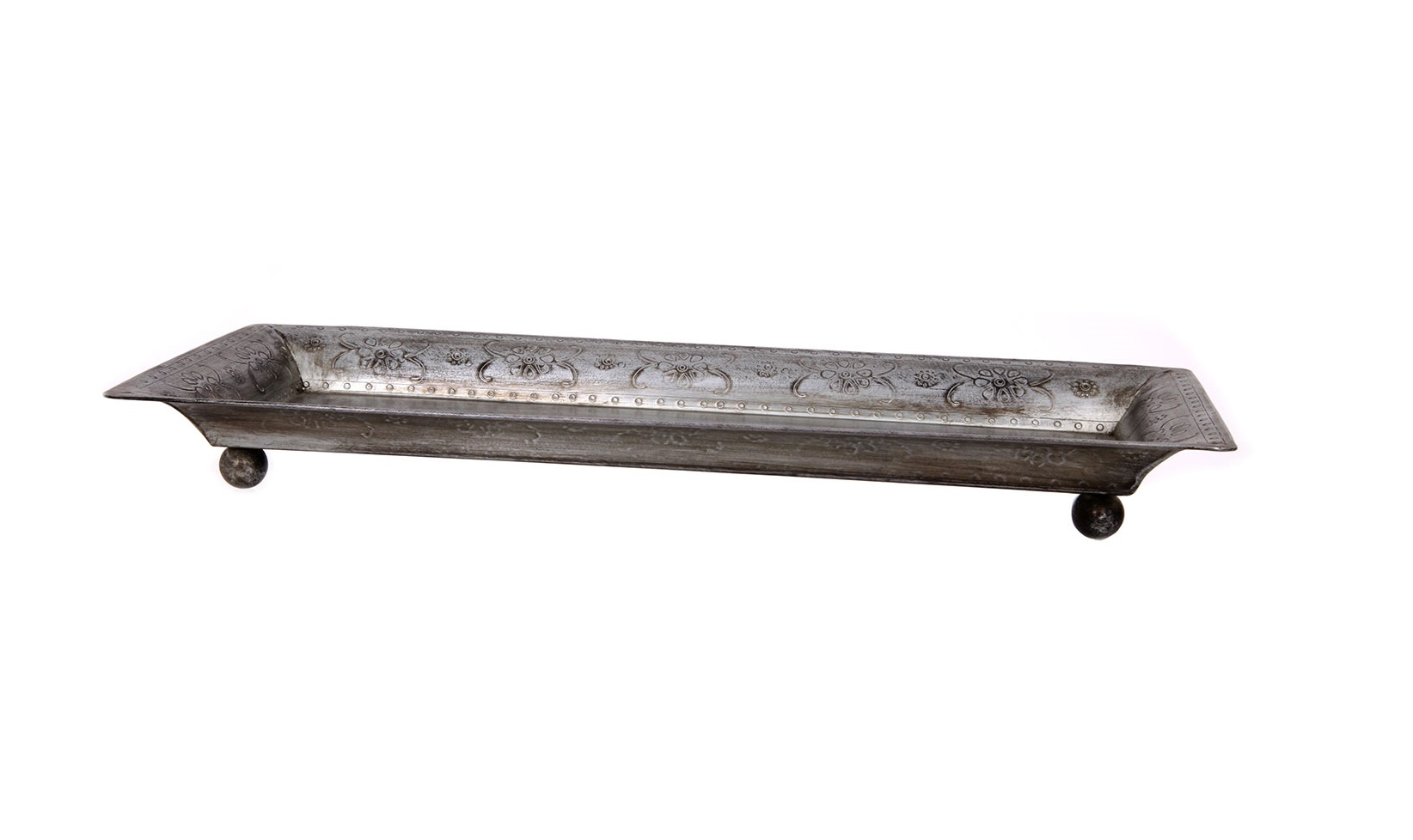 ПодносДекоративные подносы<br><br><br>Material: Металл<br>Length см: None<br>Width см: 31<br>Depth см: 13<br>Height см: 4