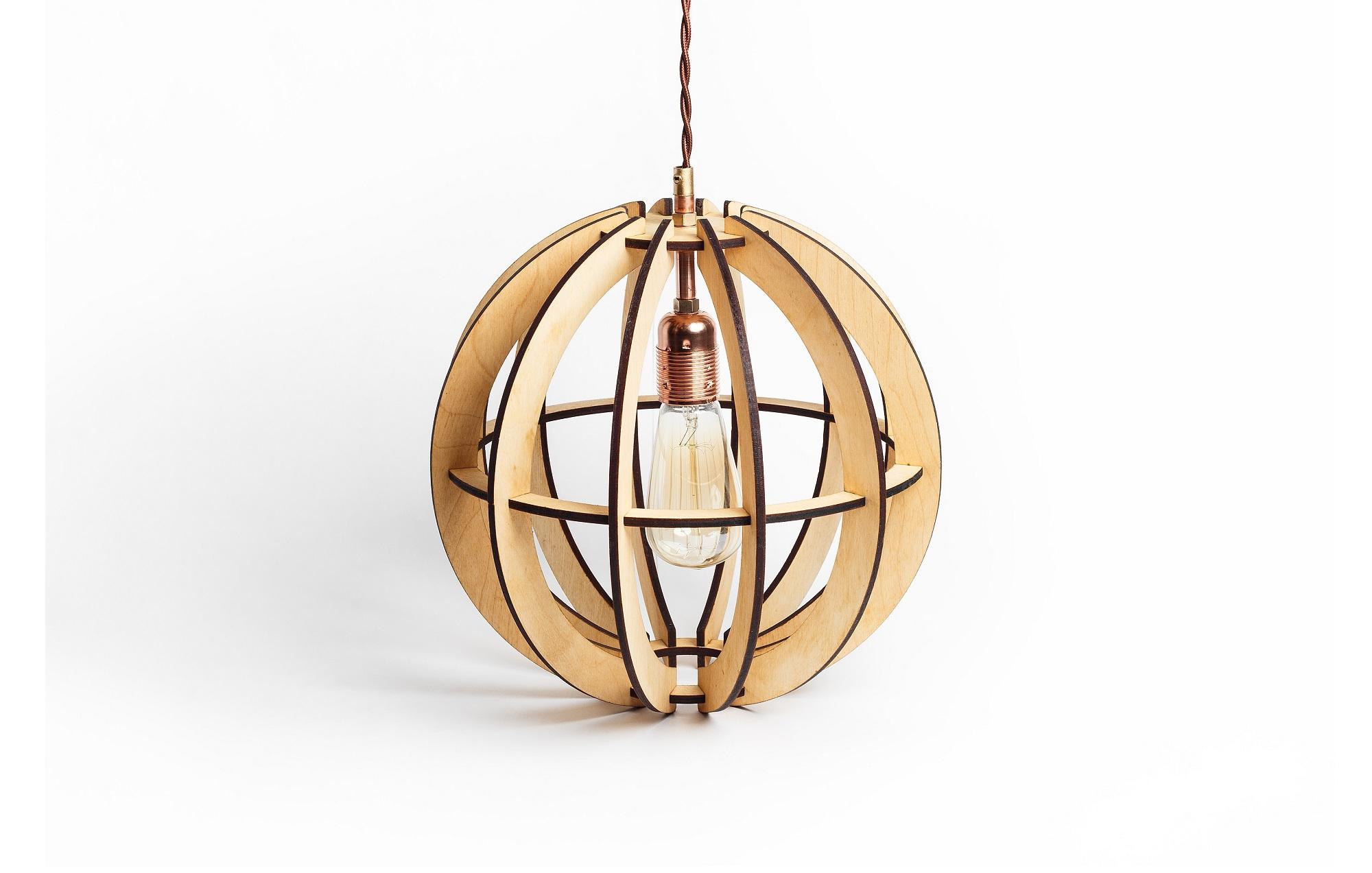 Деревянный светильник Аэросфера МиниПодвесные светильники<br>Деревянная люстра в стиле Лофт. Возможно изготовление в двух цветах - натуральный ( покрытый лаком ) и темный ( мореный ) Поставляется в собранном виде.&amp;amp;nbsp;&amp;lt;div&amp;gt;&amp;lt;br&amp;gt;&amp;lt;/div&amp;gt;&amp;lt;div&amp;gt;&amp;lt;div&amp;gt;Вид цоколя: E27&amp;lt;/div&amp;gt;&amp;lt;div&amp;gt;Мощность: 60W&amp;lt;/div&amp;gt;&amp;lt;div&amp;gt;Количество ламп: 1 (нет в комплекте)&amp;lt;/div&amp;gt;&amp;lt;/div&amp;gt;<br><br>Material: Дерево<br>Высота см: 31