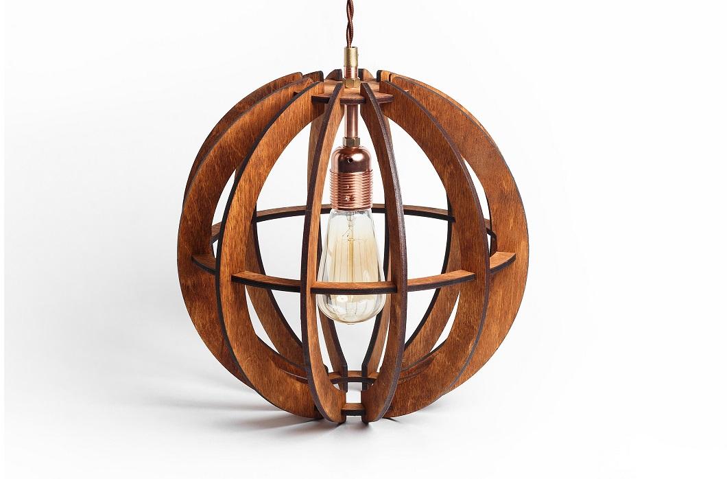 Деревянный светильник Аэросфера МиниПодвесные светильники<br>Деревянная люстра в стиле Лофт. Возможно изготовление в двух цветах - натуральный ( покрытый лаком ) и темный ( мореный ) Поставляется в собранном виде.&amp;amp;nbsp;&amp;lt;div&amp;gt;&amp;lt;br&amp;gt;&amp;lt;/div&amp;gt;&amp;lt;div&amp;gt;&amp;lt;div&amp;gt;Вид цоколя: E27&amp;lt;/div&amp;gt;&amp;lt;div&amp;gt;Мощность: 60W&amp;lt;/div&amp;gt;&amp;lt;div&amp;gt;Количество ламп: 1 (нет в комплекте)&amp;lt;/div&amp;gt;&amp;lt;/div&amp;gt;<br><br>Material: Дерево<br>Length см: None<br>Width см: None<br>Height см: 31<br>Diameter см: 32