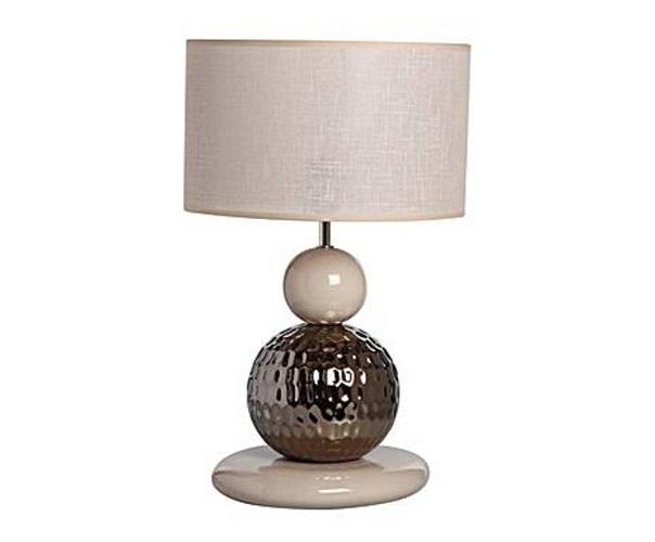 Настольная лампаДекоративные лампы<br>Компактная лампа, которую можно поставить на прикроватную тумбочку и включать, когда захочется почитать перед сном.&amp;lt;div&amp;gt;&amp;lt;br&amp;gt;&amp;lt;/div&amp;gt;&amp;lt;div&amp;gt;&amp;lt;div&amp;gt;Вид цоколя: E27&amp;lt;/div&amp;gt;&amp;lt;div&amp;gt;Мощность: &amp;amp;nbsp;60W&amp;lt;/div&amp;gt;&amp;lt;div&amp;gt;Количество ламп: 1 (нет в комплекте)&amp;lt;/div&amp;gt;&amp;lt;/div&amp;gt;<br><br>Material: Керамика<br>Height см: 50<br>Diameter см: 30