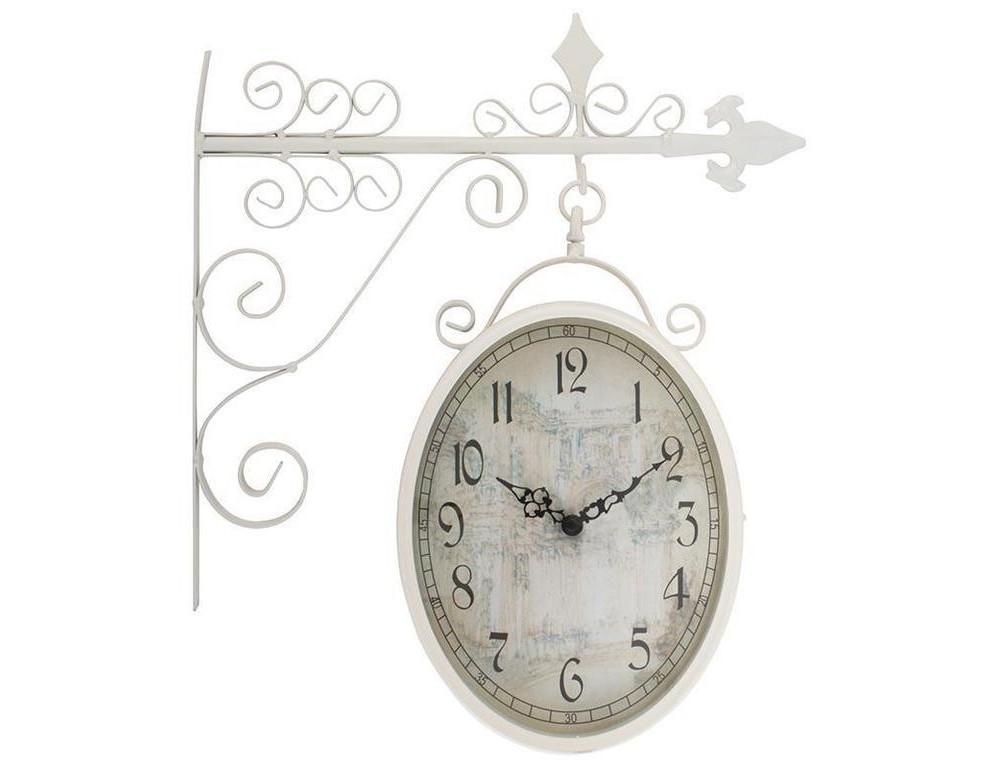 Часы настенные DelorejnНастенные часы<br>Кварцевый механизм<br><br>Material: Металл<br>Length см: None<br>Width см: 36<br>Depth см: 9<br>Height см: 45