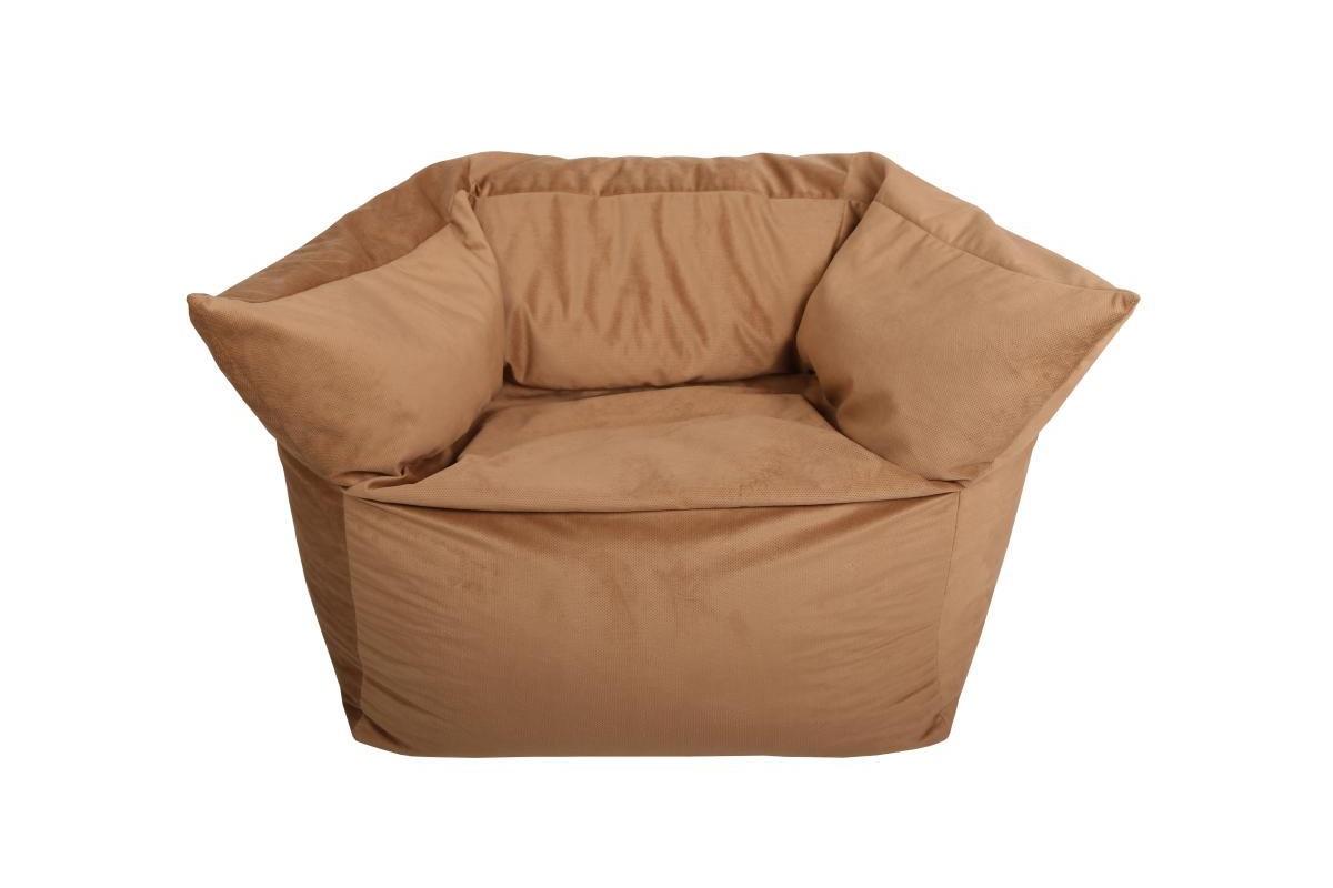 Кресло итальянское СreamКресла-мешки<br>Бескаркасное кресло с наполнителем из пенополистирольных шариков ? хорошее дополнение для современного интерьера. Удобное, принимающее любое положение, легкое в уходе и перемещении, оно станет отличным акцентом для эклектичной гостиной или спальни в стиле лофт. Кремовый бежевый цвет, представленный в двух оттенках, позволит ему привнести в аскетичные пространства частицу промышленного стиля. С ним минималистичное оформление станет куда более теплым и приветливым.<br><br>Material: Текстиль<br>Length см: None<br>Width см: 80<br>Depth см: 85<br>Height см: 90