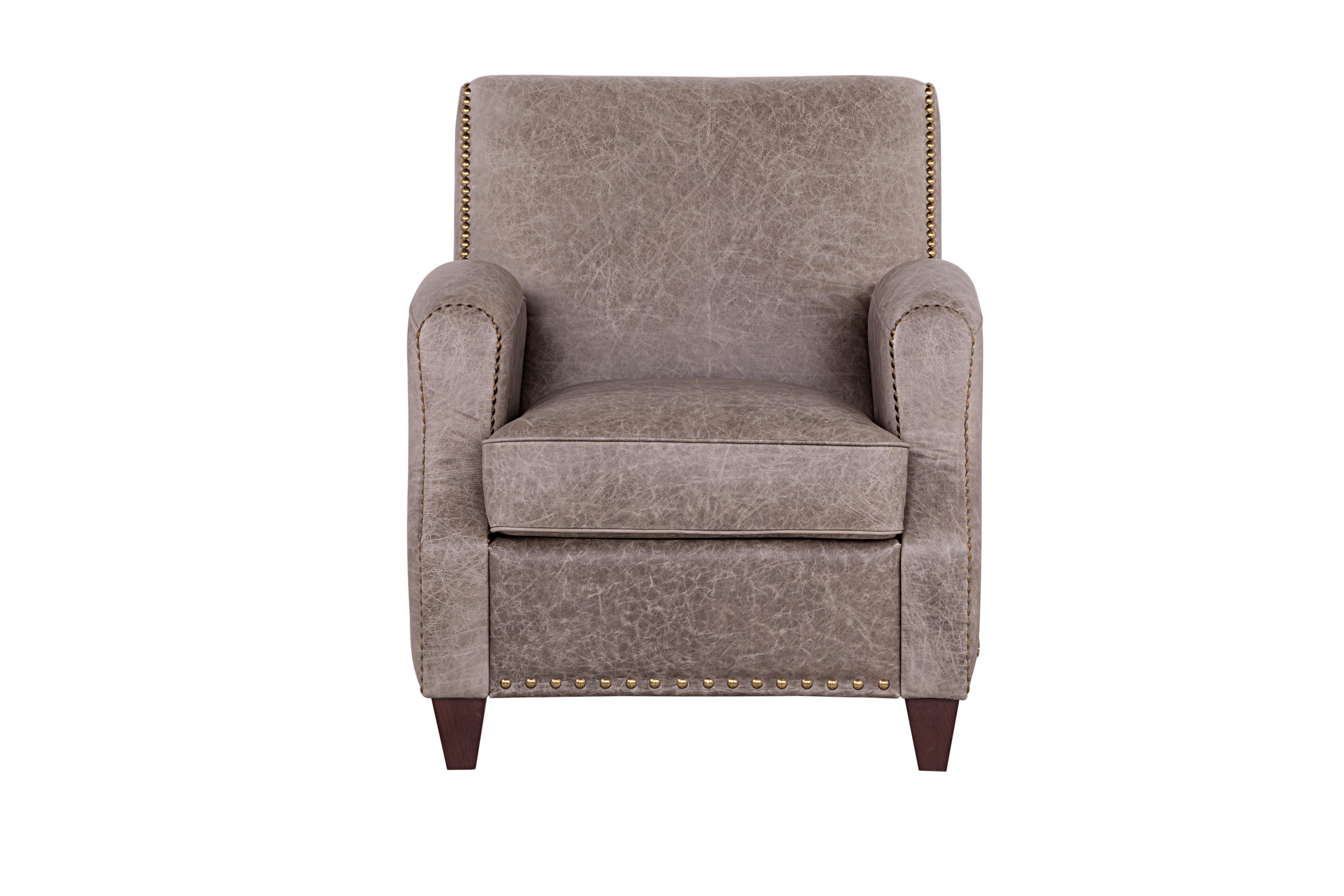 Кресло ШервудИнтерьерные кресла<br>Сам дух Британии царит в дизайне дивана «Шервуд». Культ традиций, строгость и внешнее спокойствие. И при этом буря страстей, свободолюбие и независимость, скрытые внутри. Компактный диван выполнен в лучший традициях Англии – идеальная форма и лучшее качество материалов. натуральная кожа, 100% кожа Vintage argento<br><br>Material: Кожа<br>Width см: 76<br>Depth см: 90<br>Height см: 87