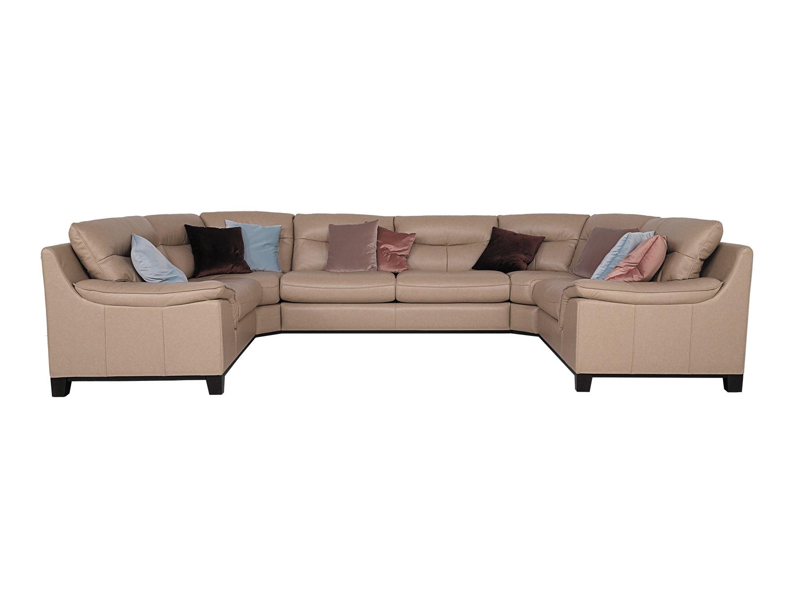 Диван-кровать Сан-РемоУгловые раскладные диваны<br>«Сан-Ремо» обладает легким и беззаботным характером, теплым южным темпераментом и неповторимым очарованием. Обтекаемые формы дивана таят в себе невероятную мягкость и воздушность. Неслучайно огромные пушистые облака вдохновили дизайнеров на создание этой модели. «Сан-Ремо» очаровывает и вдохновляет, дарит спокойствие и безмятежность.&amp;lt;div&amp;gt;Подушки в комплект не входят&amp;lt;br&amp;gt;&amp;lt;div&amp;gt;&amp;lt;br&amp;gt;&amp;lt;/div&amp;gt;&amp;lt;div&amp;gt;Механизм трансформации миксотойл.&amp;lt;/div&amp;gt;&amp;lt;div&amp;gt;Спальное место 182*133 см.&amp;lt;/div&amp;gt;&amp;lt;div&amp;gt;Натуральная кожа, 100% кожа Antico polbos.&amp;amp;nbsp;&amp;lt;/div&amp;gt;&amp;lt;div&amp;gt;&amp;lt;br&amp;gt;&amp;lt;/div&amp;gt;&amp;lt;div&amp;gt;Состоит из 5х частей.&amp;amp;nbsp;&amp;lt;/div&amp;gt;&amp;lt;div&amp;gt;Размеры частей :&amp;amp;nbsp;&amp;lt;/div&amp;gt;&amp;lt;div&amp;gt;160*95*95, 115*95*85, 115*95*85,140*95*85, 140*95*85(ширина*глубина*высота)&amp;lt;/div&amp;gt;&amp;lt;/div&amp;gt;<br><br>Material: Кожа<br>Width см: 212<br>Depth см: 90<br>Height см: 95