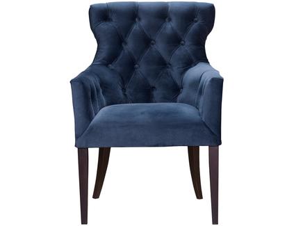 Кресло byron (myfurnish) голубой 62x96x66 см.