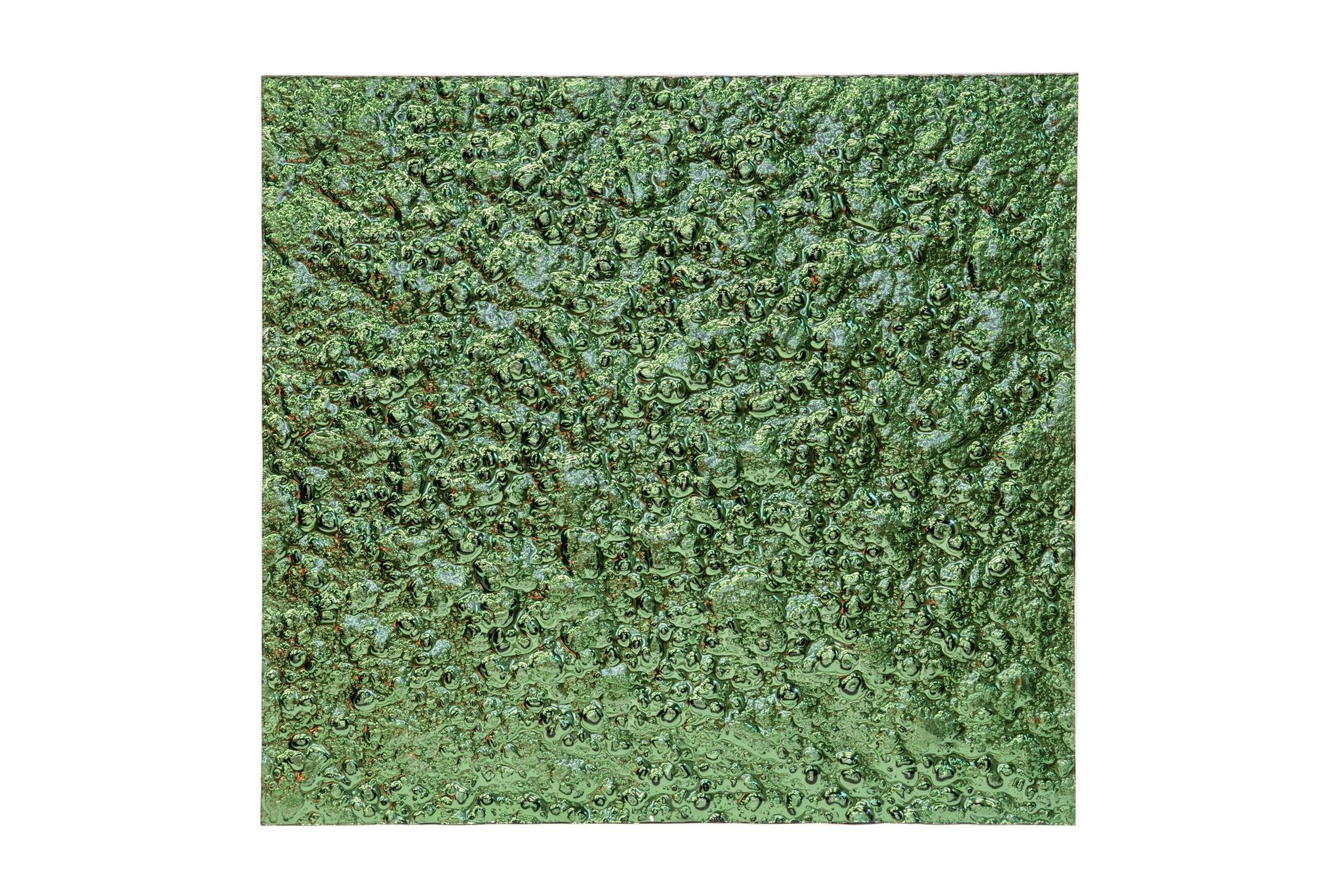 Стеновая панель Green PlanetПанно<br>Стеновые панели из стекла способны преобразить любой интерьер до неузнаваемости. Экспериментируйте с цветом и фактурой — дайте волю фантазии! Стеклянные стеновые панели – это оригинальный способ создать незаурядный интерьер, как в общественном заведении, так и в приватном помещении. Панели легко крепятся к поверхности  с помощью специального клея. Использовать стеклянные панели также можно в качестве фасада мебели. Панелями можно обшить, как большую площадь сразу (в помещении или на улице), так и отдельные элементы (например, колонны). Изготавливаются под размеры заказчика.<br><br>Material: Стекло<br>Ширина см: 100<br>Высота см: 100<br>Глубина см: 2