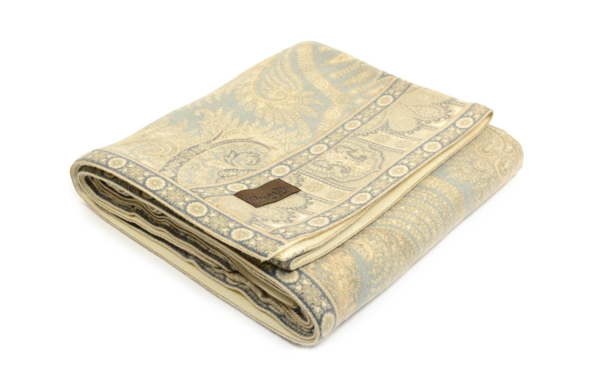Плед MandalaШерстяные пледы<br>Роскошный плед с оригинальным жаккардовым узором, выполненный из 100% кашемира, послужит отличным подарком для ваших близких и создаст уют в доме.&amp;lt;div&amp;gt;&amp;lt;br&amp;gt;&amp;lt;/div&amp;gt;&amp;lt;div&amp;gt;Состав: кашемир 100%&amp;lt;/div&amp;gt;&amp;lt;div&amp;gt;Уход: сухая чистка, химчистка                                                                     &amp;lt;/div&amp;gt;<br><br>Material: Шерсть<br>Width см: 140<br>Depth см: 200<br>Height см: 0.3