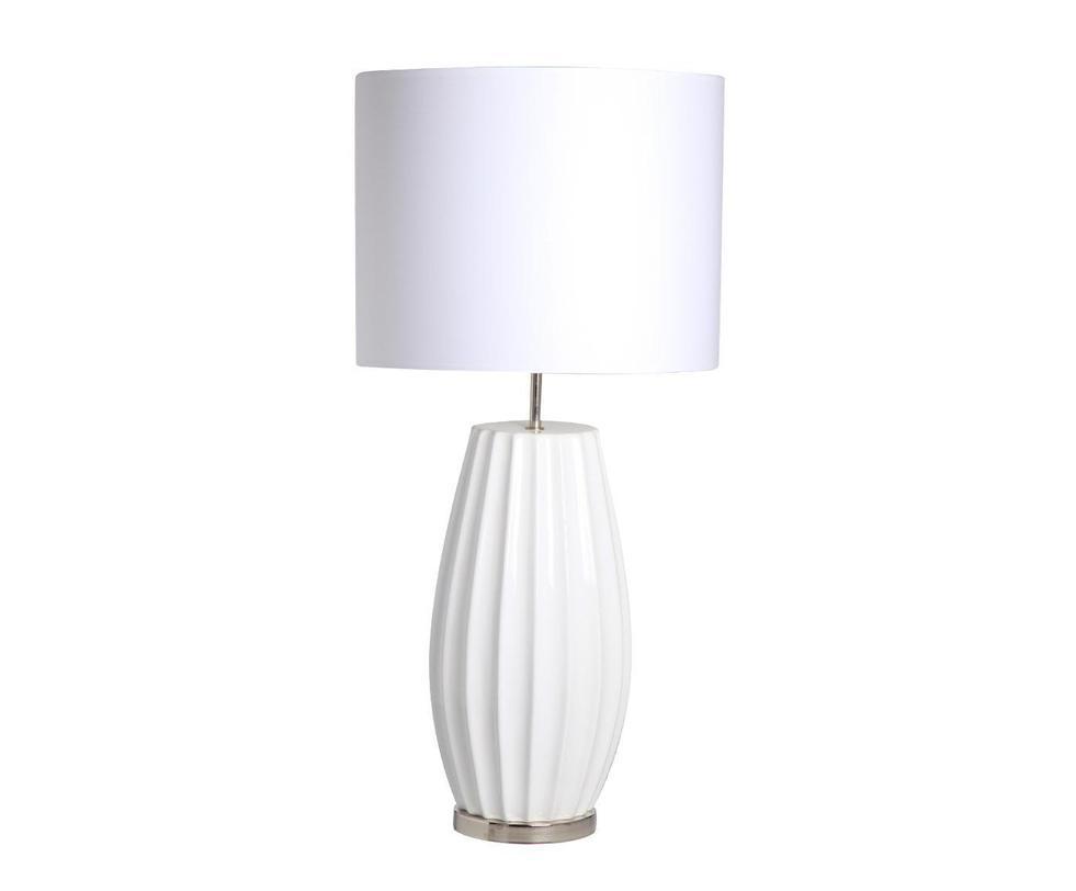 Настольная лампаДекоративные лампы<br>Изящная настольная лампа нежного белого цвета.&amp;lt;div&amp;gt;&amp;lt;br&amp;gt;&amp;lt;/div&amp;gt;&amp;lt;div&amp;gt;&amp;lt;div&amp;gt;Вид цоколя: E27&amp;lt;/div&amp;gt;&amp;lt;div&amp;gt;Мощность: 60W&amp;lt;/div&amp;gt;&amp;lt;div&amp;gt;Количество ламп: 1&amp;lt;/div&amp;gt;&amp;lt;/div&amp;gt;<br><br>Material: Керамика<br>Length см: None<br>Width см: None<br>Depth см: None<br>Height см: 78.0<br>Diameter см: 38.0