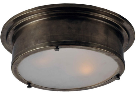 "Светильник ""Industrial Round Flush Mount"""