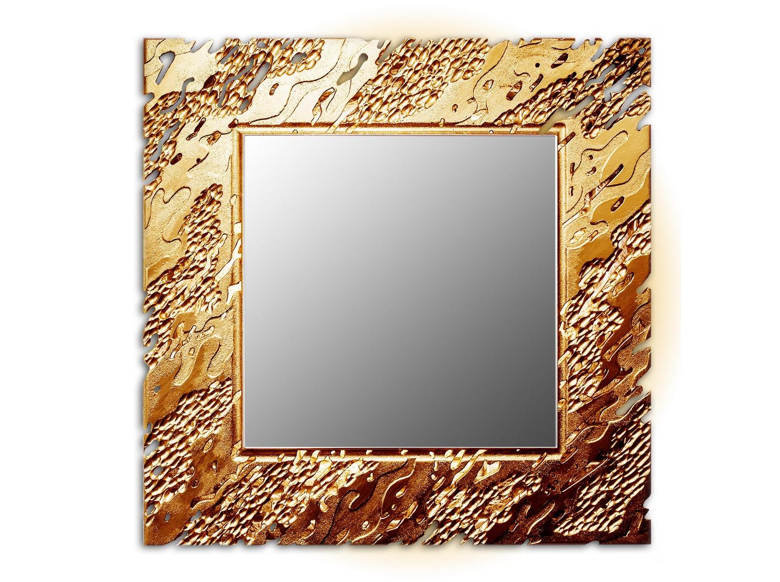 Зеркало REEFНастенные зеркала<br>Ветерок касается воды и солнечные блики играют на ее поверхности. <br>Завораживающая картина, дарящая отдых душе. На нее можно смотреть бесконечно. <br>Резной рисунок на раме зеркал коллекции Reef имитирует рябь на водной глади. <br>Данный вариант представлен в квадратной форме и бронзовом цвете<br><br>Material: Дерево<br>Width см: 90<br>Depth см: 0.8<br>Height см: 90