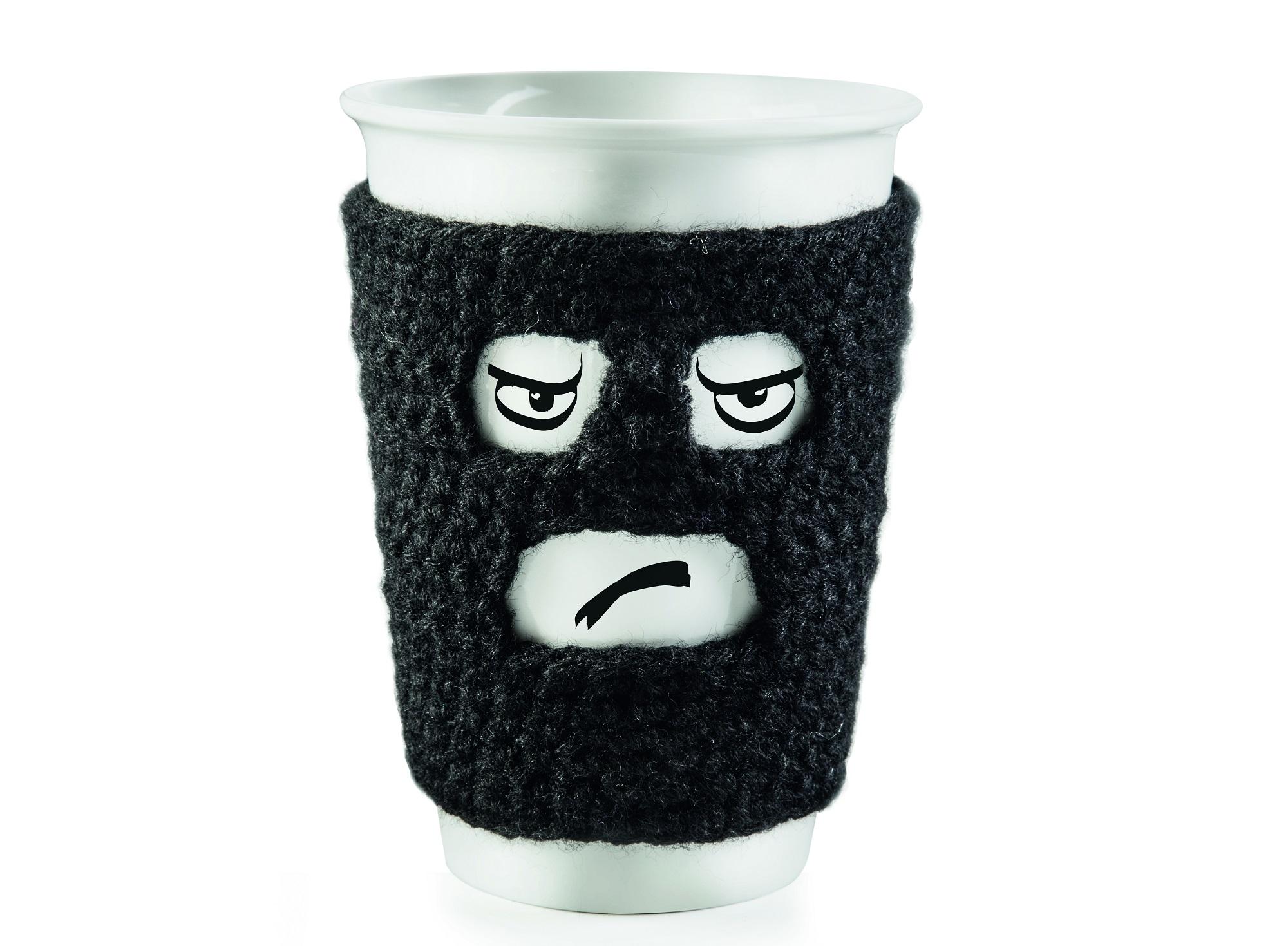 Кружка Morning GangsterЧайные пары, чашки и кружки<br>Кружка Morning Gangster с вязанным чехлом,&amp;amp;nbsp;&amp;lt;div&amp;gt;Объем 250 мл&amp;lt;br&amp;gt;&amp;lt;/div&amp;gt;<br><br>Material: Фарфор<br>Width см: 12<br>Depth см: 9<br>Height см: 9