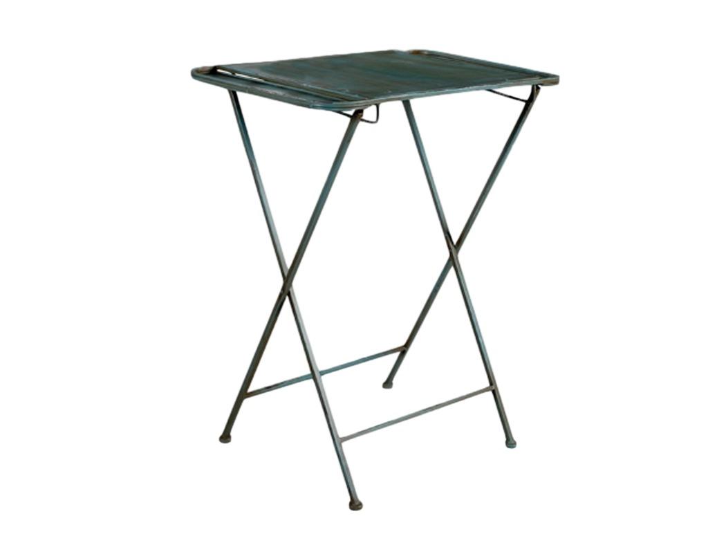 Столик железныйСтолы и столики для сада<br>Столик железный наклонный со старением.<br><br>Material: Металл<br>Length см: None<br>Width см: 70<br>Depth см: 50<br>Height см: 86