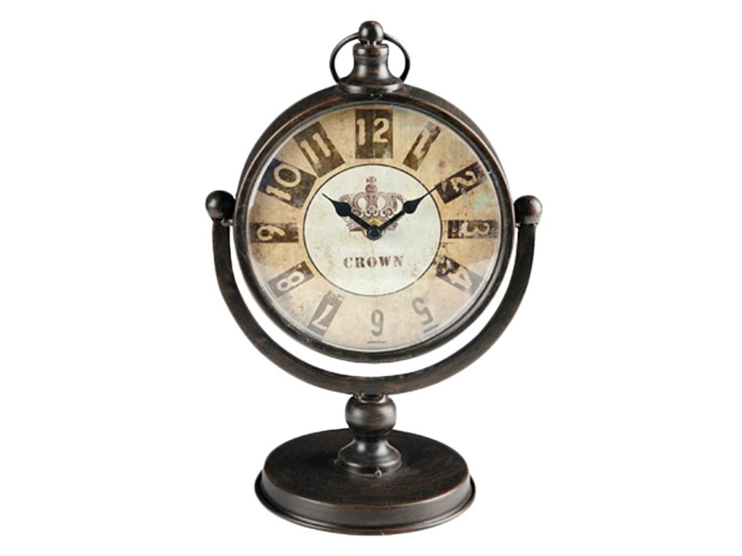 Часы настольныеНастольные часы<br>Кварцевый механизм<br><br>Material: Металл<br>Width см: 19<br>Depth см: 13<br>Height см: 29