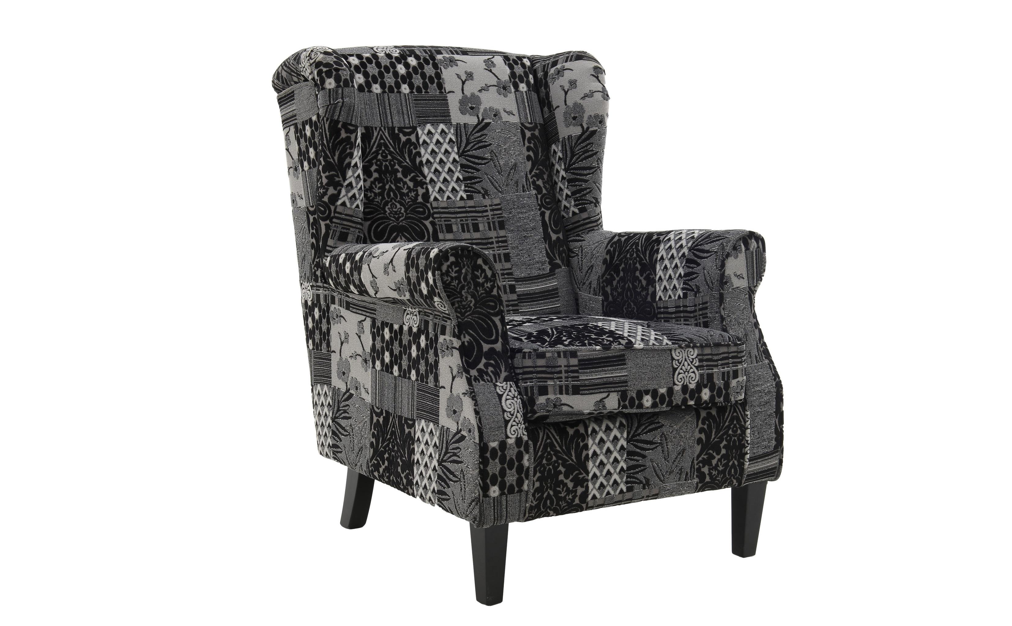 Кресло Mart?nezИнтерьерные кресла<br>Материал: дерево, хлопок, полиэстер<br><br>Material: Хлопок<br>Length см: None<br>Width см: 76<br>Depth см: 83<br>Height см: 95