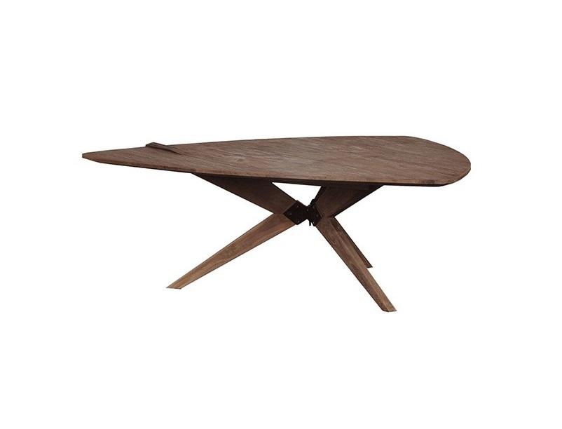 Стол TangoКофейные столики<br>Облик этого столика открывает широкий простор для догадок, чем именно вдохновлялись дизайнеры d-Bodhi, проектируя его. Может фантастическими рассказами о межпланетных путешествиях или тропическими грибами, растущими под сенью тиковых деревьев.<br><br>Material: Тик<br>Length см: None<br>Width см: 100<br>Depth см: 96<br>Height см: 35<br>Diameter см: None