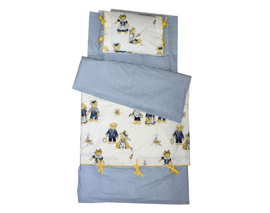 """Комплект постельного белья """"Путешественники и моряки"""""""