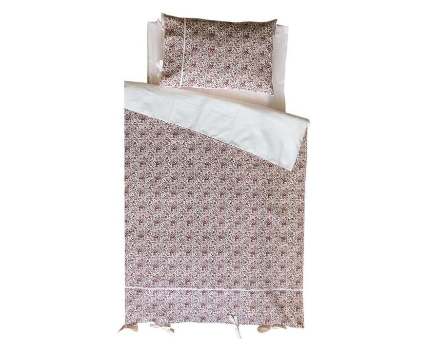 Комплект постельного белья Розовый садикДетское постельное белье<br>&amp;lt;div&amp;gt;КПБ (детский), Розовый садик, розовый, б/в, полотняный, х/б бязь&amp;lt;/div&amp;gt;&amp;lt;div&amp;gt;&amp;lt;br&amp;gt;&amp;lt;/div&amp;gt;&amp;lt;div&amp;gt;Размеры:&amp;lt;/div&amp;gt;&amp;lt;div&amp;gt;пододеяльник - 147х115;&amp;lt;/div&amp;gt;&amp;lt;div&amp;gt;простынь - 150х120;&amp;lt;/div&amp;gt;&amp;lt;div&amp;gt;наволочка - 40х60.&amp;lt;/div&amp;gt;<br><br>Material: Хлопок<br>Length см: None<br>Width см: 115<br>Depth см: 147<br>Height см: None