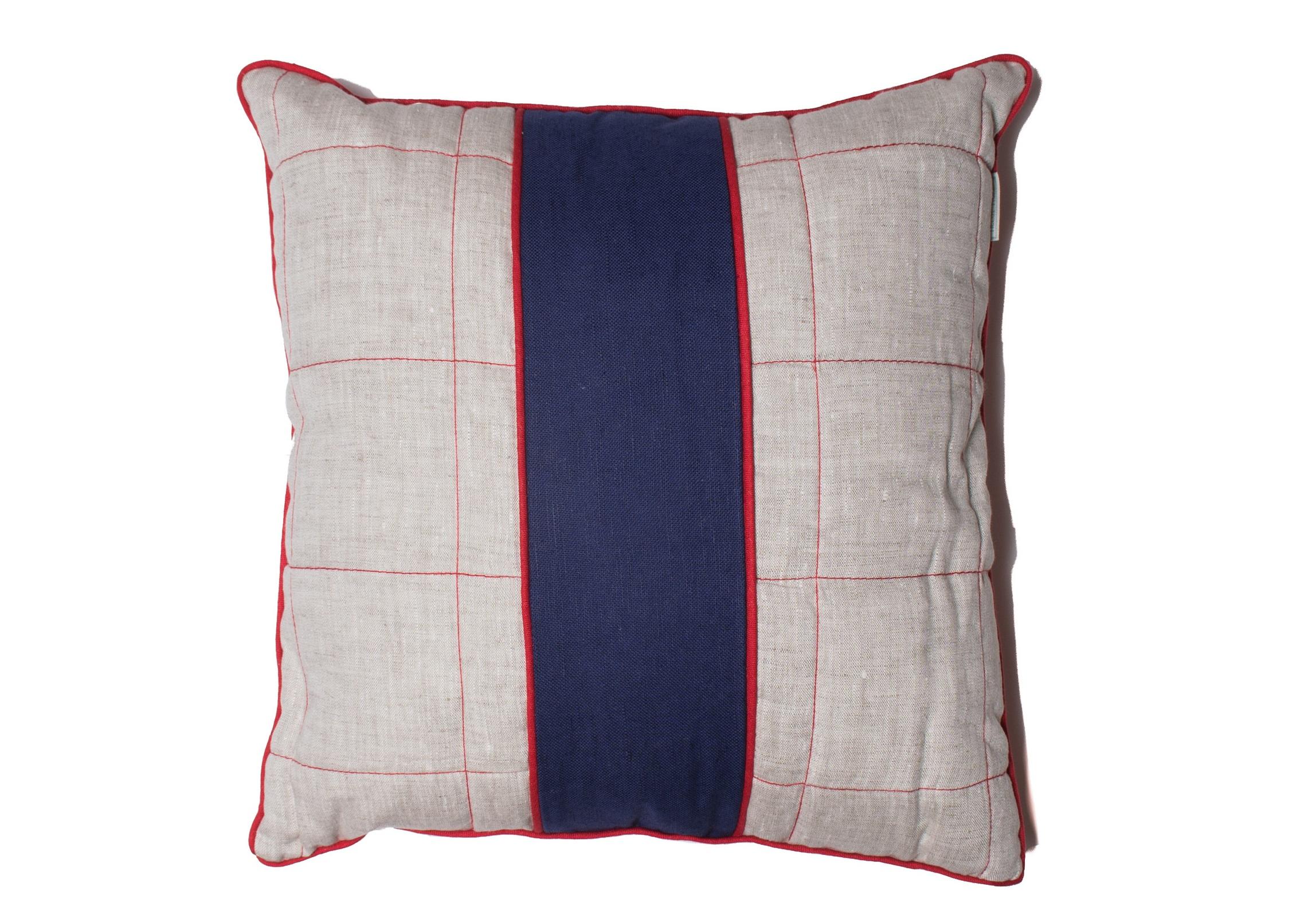 Подушка декоративная Датские вафлиКвадратные подушки и наволочки<br>Материал: хлопок 50% + лен 50%<br><br>Material: Хлопок<br>Width см: 45<br>Depth см: 45<br>Height см: 8