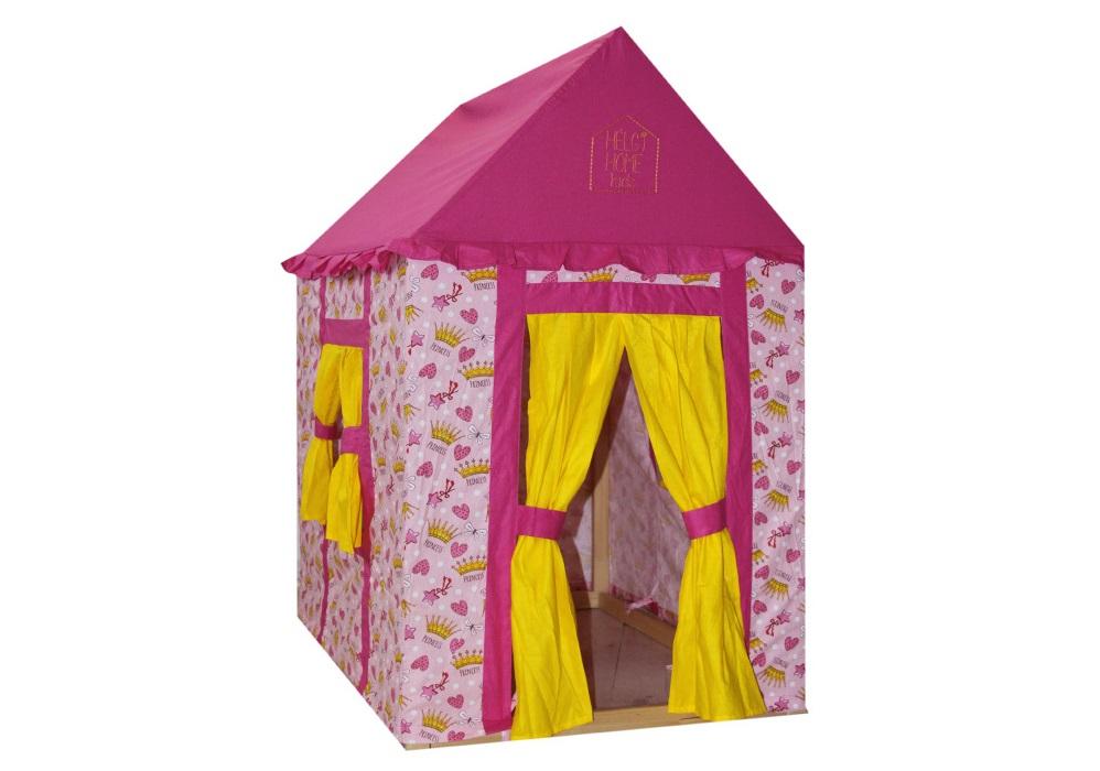Домик Маленькая принцессаДетские домики<br>Материал: сосна, хлопок<br><br>Material: Хлопок<br>Ширина см: 100<br>Высота см: 118<br>Глубина см: 73
