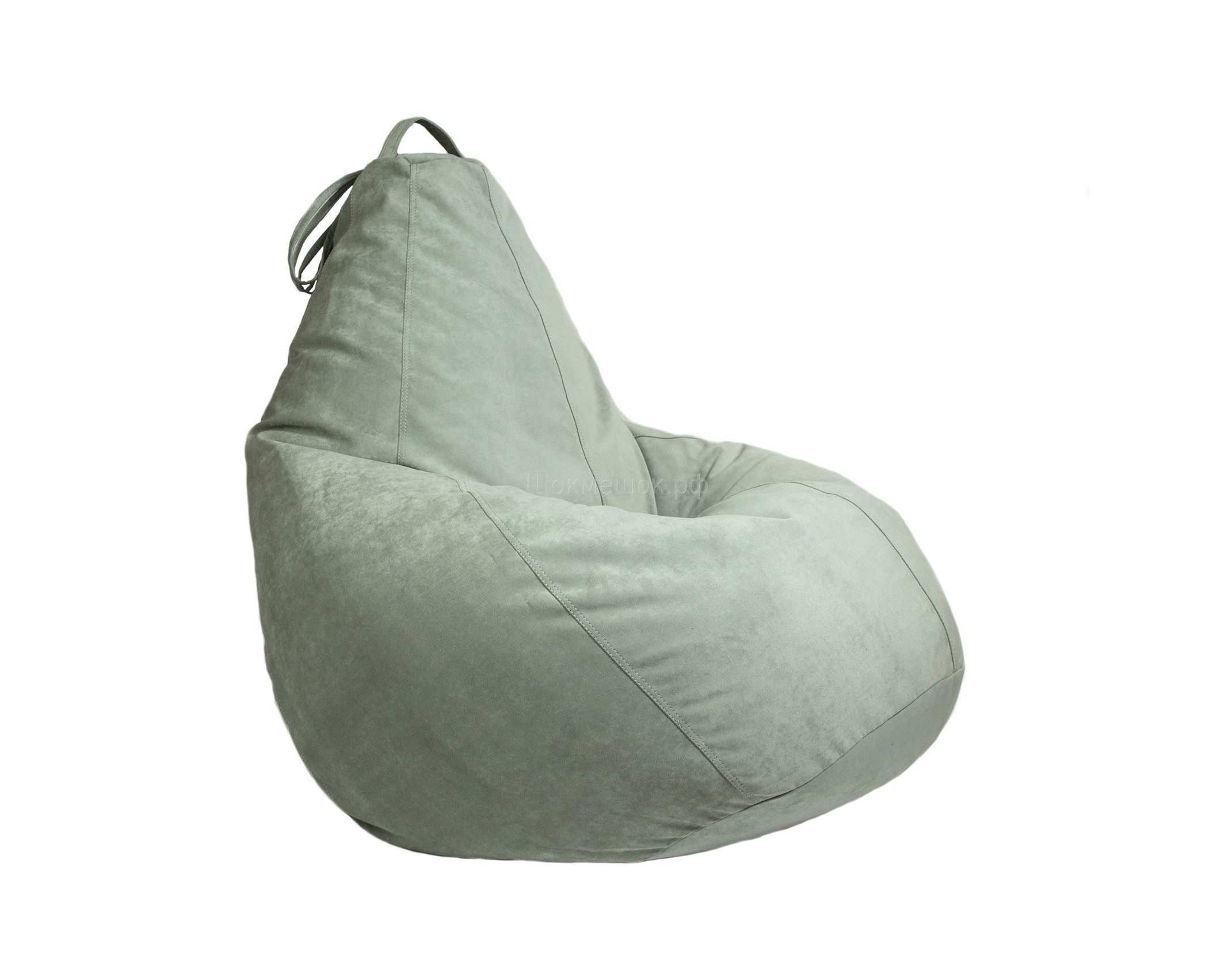 Бескаркасное креслоКресла-мешки<br>Бескаркасное кресло-мешок Boss - это кресло большого размера, которое хорошо поддерживает спину и плечи. Это делает кресло удобным для отдыха. Ткань - микровелюр с коротким ворсом.&amp;amp;nbsp;<br><br>Material: Велюр, атлас<br>Ширина см: 95<br>Высота см: 150<br>Глубина см: 95