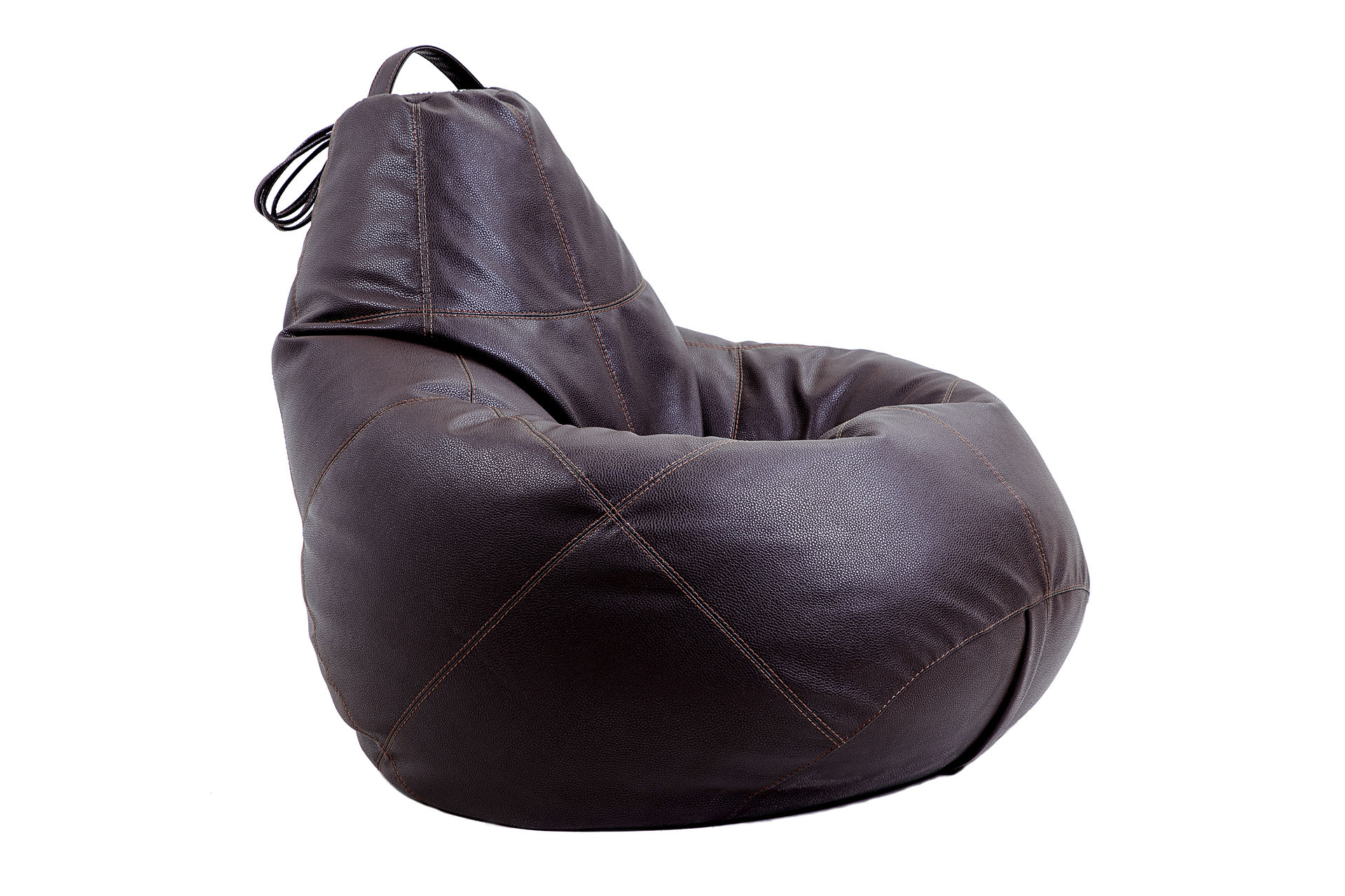 Бескаркасное креслоКресла-мешки<br><br><br>Material: Экокожа<br>Ширина см: 95<br>Высота см: 150<br>Глубина см: 95