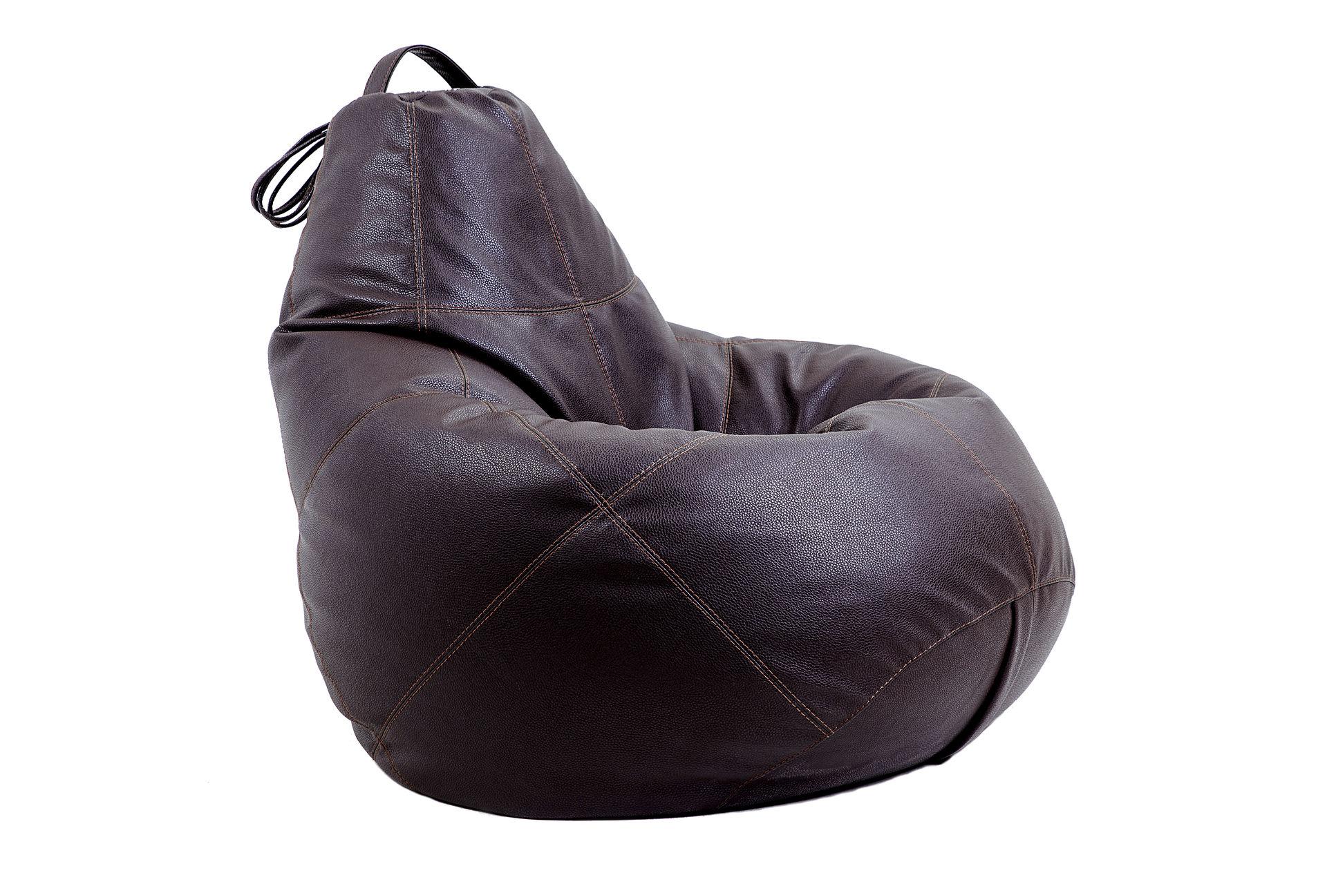 Бескаркасное креслоКресла-мешки<br><br><br>Material: Кожа<br>Height см: 150<br>Diameter см: 95