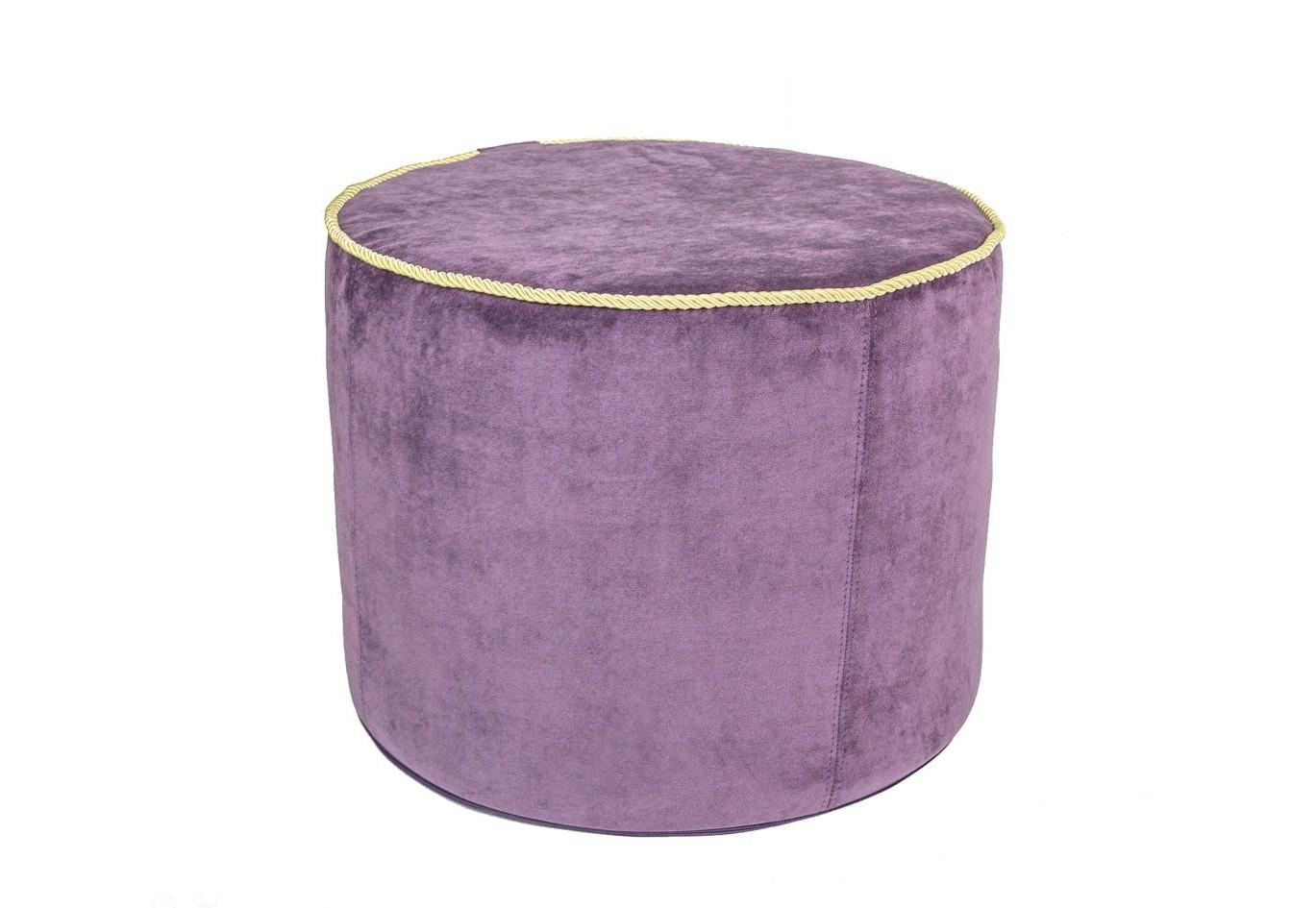 ПуфФорменные пуфы<br>Практичный пуф-столик. Удобный столик для напитков, книг, кальяна или мягкий пуфик для поддержки ног и сидения. Ткань -  микровелюр с коротким ворсом. Коллекция тканей Aкварель была создана по полотнам художника Эдуарда Гау, что придает ей художественный шарм. Прочность ткани 60 000 циклов по Мартиндейлу, что подходит даже для коммерческого использования.&amp;amp;nbsp;<br><br>Material: Велюр<br>Height см: 40<br>Diameter см: 50