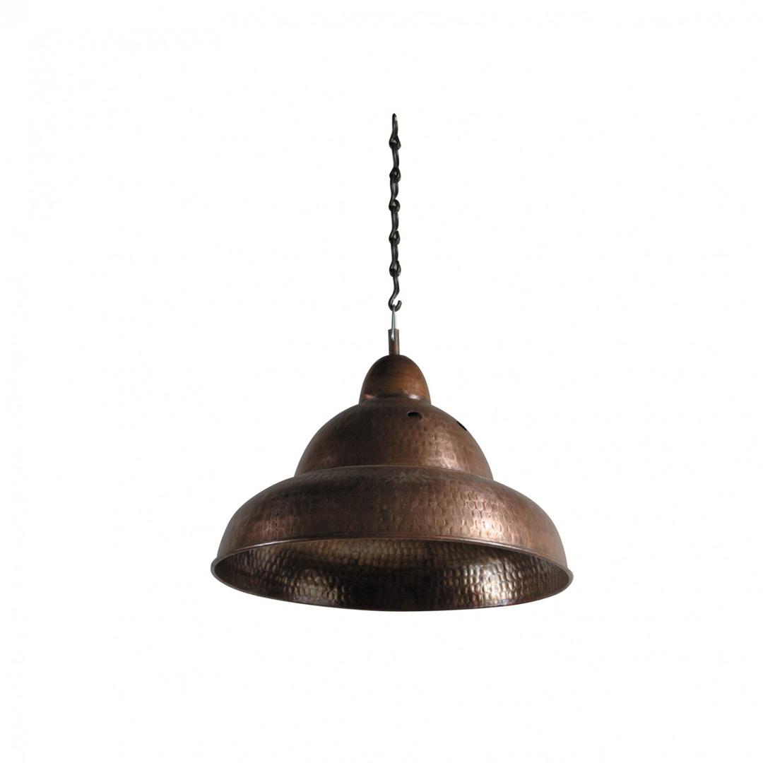 Медный светильник  №4Подвесные светильники<br><br><br>Material: Медь<br>Height см: 25<br>Diameter см: 30