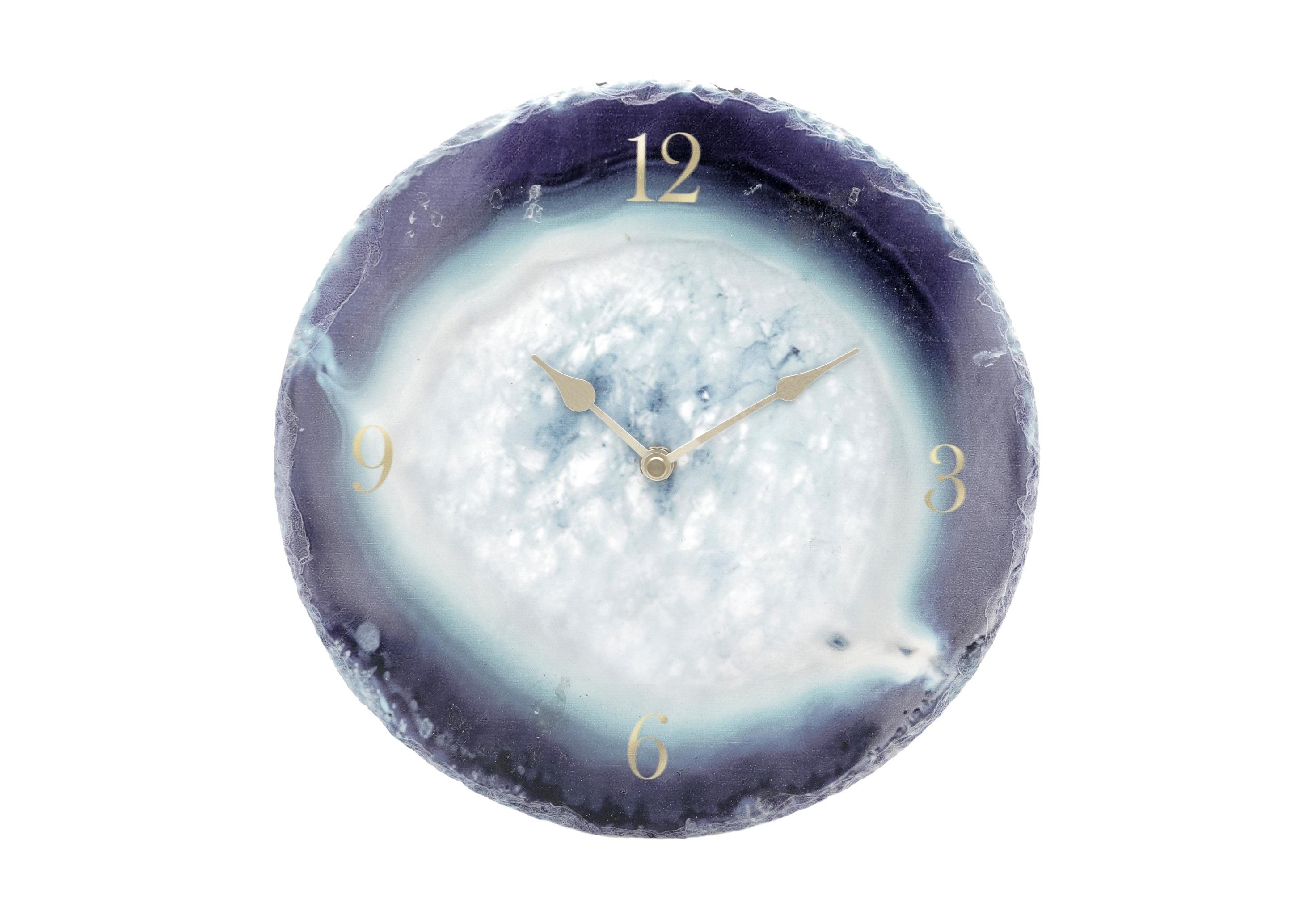 Часы настенные FrenkНастенные часы<br>Кварцевый механизм<br><br>Material: Мрамор<br>Depth см: 4<br>Diameter см: 25