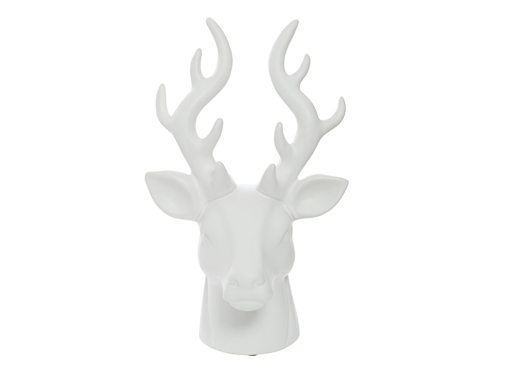 Статуэтка Голова оленяСтатуэтки<br><br><br>Material: Керамика<br>Width см: 21<br>Depth см: 18<br>Height см: 35.4