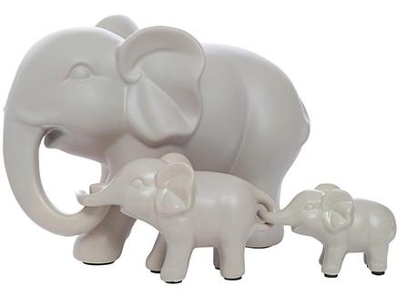 """Статуэтка """"Набор слонов"""" (3 шт)"""