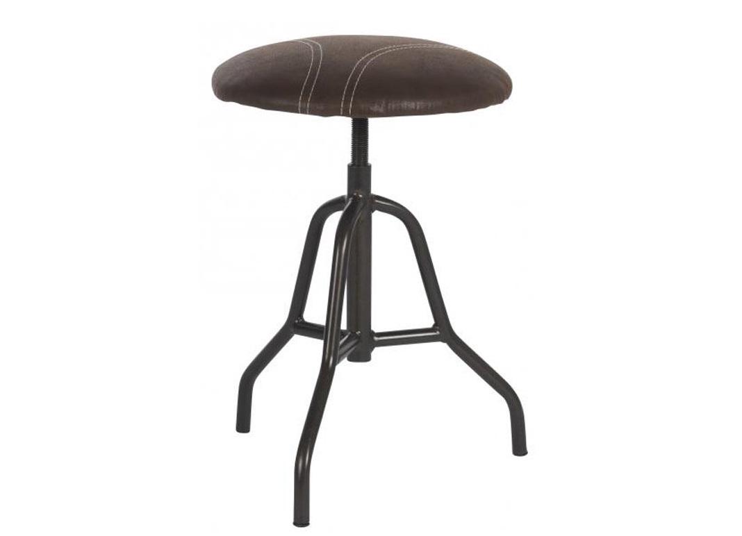 Табурет Sacramento BrownТабуреты<br>Этот табурет напоминает заводский рабочий стул, которые размещались перед станком. Сидение из замши кофейного цвета отделано контрастной строчкой, имитируя элемент одежды. Мужской характер подчеркивает черная металлическая ножка. Этот табурет — непременный атрибут лофтовых пространств.&amp;lt;div&amp;gt;&amp;lt;span style=&amp;quot;line-height: 27.7777px;&amp;quot;&amp;gt;&amp;lt;br&amp;gt;&amp;lt;/span&amp;gt;&amp;lt;/div&amp;gt;&amp;lt;div&amp;gt;&amp;lt;span style=&amp;quot;line-height: 27.7777px;&amp;quot;&amp;gt;Табурет с отделкой из высококачественной искусственной замши на металлическом каркасе.&amp;lt;/span&amp;gt;&amp;lt;/div&amp;gt;&amp;lt;div&amp;gt;&amp;lt;span style=&amp;quot;line-height: 27.7777px;&amp;quot;&amp;gt;Высота табурета изменяется &amp;amp;nbsp;от 45 см до 62 см&amp;lt;/span&amp;gt;&amp;lt;/div&amp;gt;<br><br>Material: Тик<br>Length см: None<br>Width см: 36<br>Height см: 45