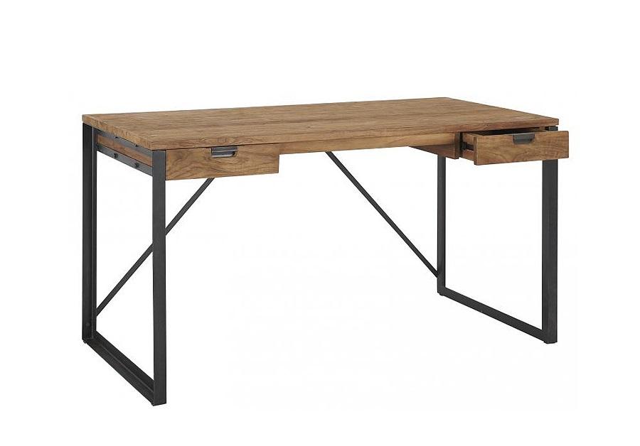 Стол письменный Fendy 140Письменные столы<br>&amp;lt;div&amp;gt;&amp;quot;Fendy 140&amp;quot; ? великолепный письменный стол, силуэт которого вдохновлен конструкциями традиционной яванской мебели. В его дизайне сочетаются сдержанность и строгость, которые не лишают оформление элегантности. Аскетизм и лаконичный декор этого стола делают его идеальным для минималистичных рабочих кабинетов в скандинавском стиле.&amp;lt;/div&amp;gt;&amp;lt;div&amp;gt;&amp;lt;br&amp;gt;&amp;lt;/div&amp;gt;&amp;lt;div&amp;gt;Письменный стол из массива тика и металла с двумя небольшими, удобными ящиками. Возможна установка дополнительной полки по вашему желанию.&amp;lt;/div&amp;gt;<br><br>Material: Тик<br>Length см: 70<br>Width см: 140<br>Height см: 78