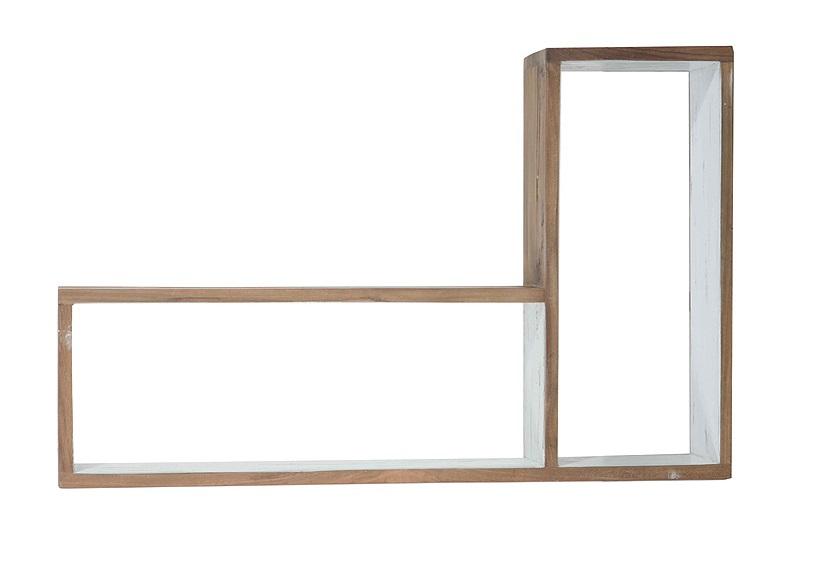 Полка ContrastПолки<br>Шкаф прямо на стене? Такую необычную систему хранения можно создать при помощи полок коллекции &amp;quot;Contrast&amp;quot;. Эта угловая модель поможет вам обрисовать границы своего оригинального &amp;quot;шкафа&amp;quot;. Благодаря оформлению в скандинавском стиле она будет смотреться очень элегантно и гармонично в современных интерьерах.&amp;amp;nbsp;&amp;lt;div&amp;gt;&amp;lt;br&amp;gt;&amp;lt;/div&amp;gt;&amp;lt;div&amp;gt;Модель D.&amp;lt;/div&amp;gt;<br><br>Material: Тик<br>Length см: 70<br>Width см: 45<br>Depth см: 15