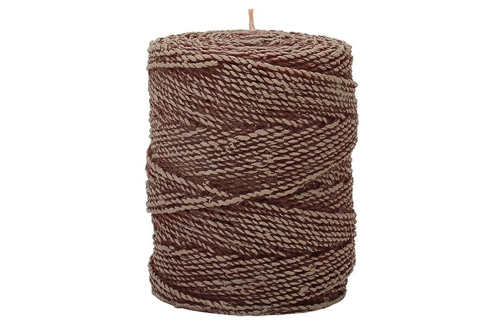 Свеча Twine 15 WoodСвечи<br>Долгогорящая свеча из натурального воска, коллекция Twine, аромат Fresh Linen. Время горения свечи - 130 часов.<br><br>Material: Воск<br>Высота см: 14