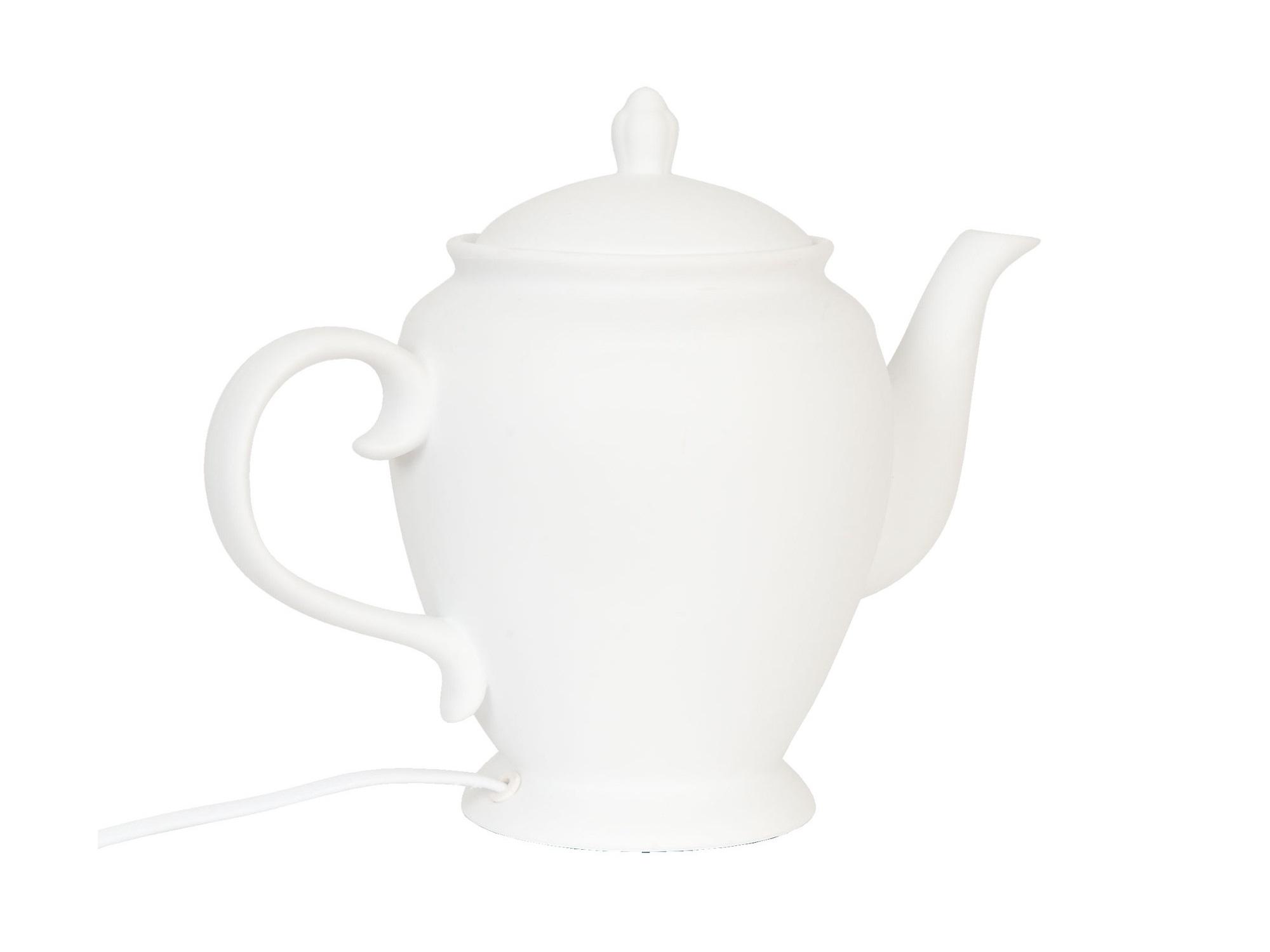 Настольная лампа-кофейник