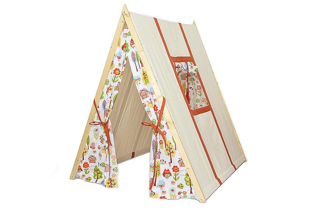 Палатка Домик АльвыДетские домики<br><br><br>Material: Хлопок<br>Ширина см: 100<br>Высота см: 120<br>Глубина см: 130