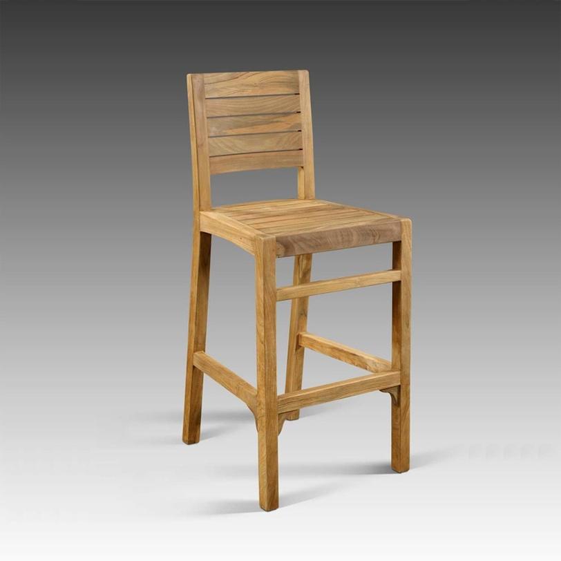 Стул барный Claudia paintedБарные стулья<br>Подлинная элегантность заключается в простоте ? вот какую аксиому доказывает нам барный стул &amp;quot;Claudia Painted&amp;quot;. Невероятную изысканность его облику дарит лаконичность форм, совмещенная с красотой антикварного восстановленного тика. Яркая отделка разноцветными красками добавляет экспрессию к естественному стилю кантри.<br><br>Material: Тик<br>Length см: None<br>Width см: 42<br>Depth см: 48<br>Height см: 110<br>Diameter см: None